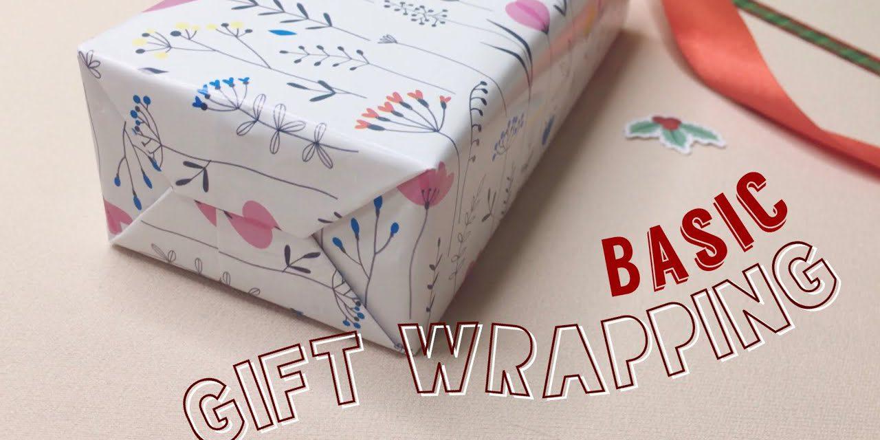 How to Wrap a Gift for Beginner (Basic) : วิธีการห่อของขวัญเบื้องต้นแบบง่ายๆ สวยๆ