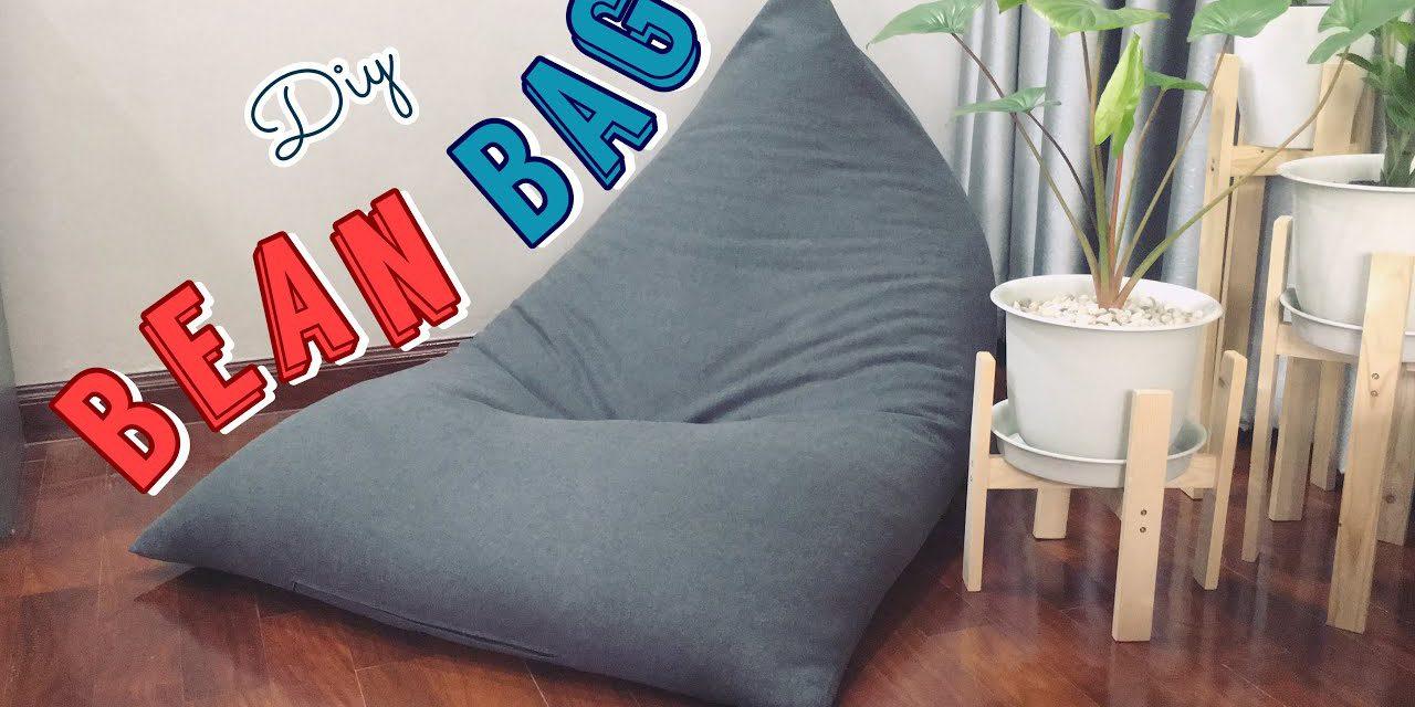 DIY Amazing Bean Bag Chair: วิธีทำเก้าอี้ Bean Bag เอง ง่ายๆ ที่บ้าน