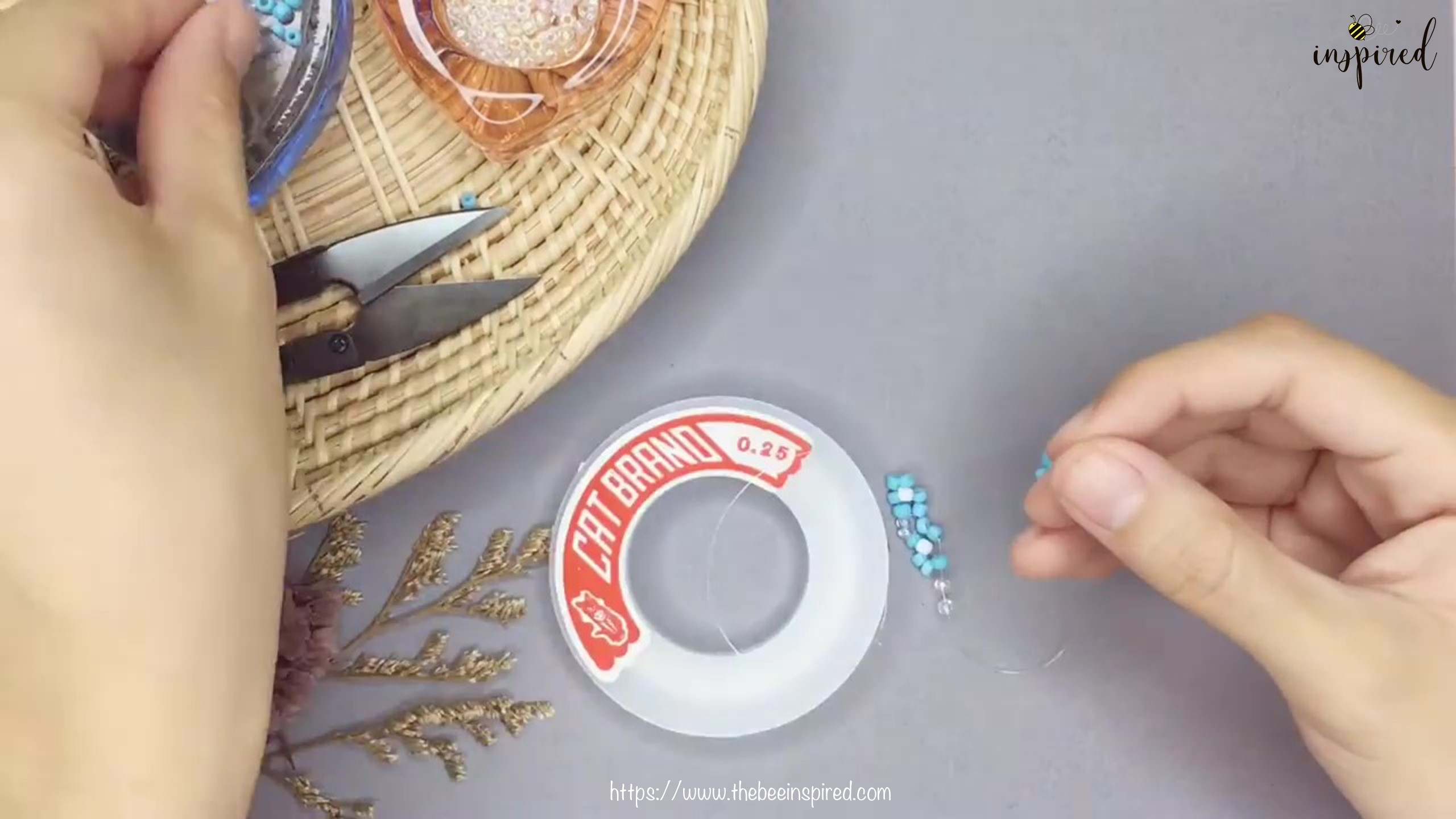 DIY Beaded Ring-3-4