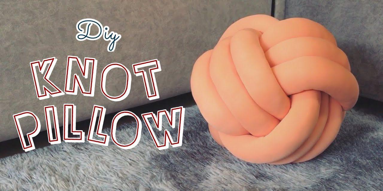 DIY knot pillow : วิธีทำหมอนถักของตกแต่งบ้านสไตล์มินิมอล