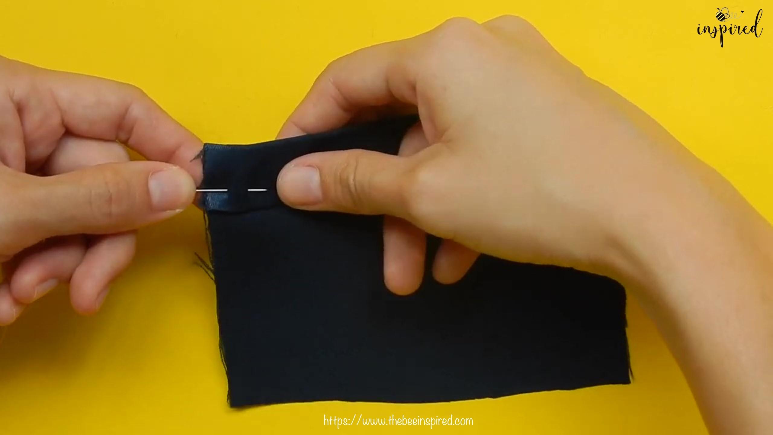 วิธีการเนาผ้า (How to Sew a Basting Stitch)_1