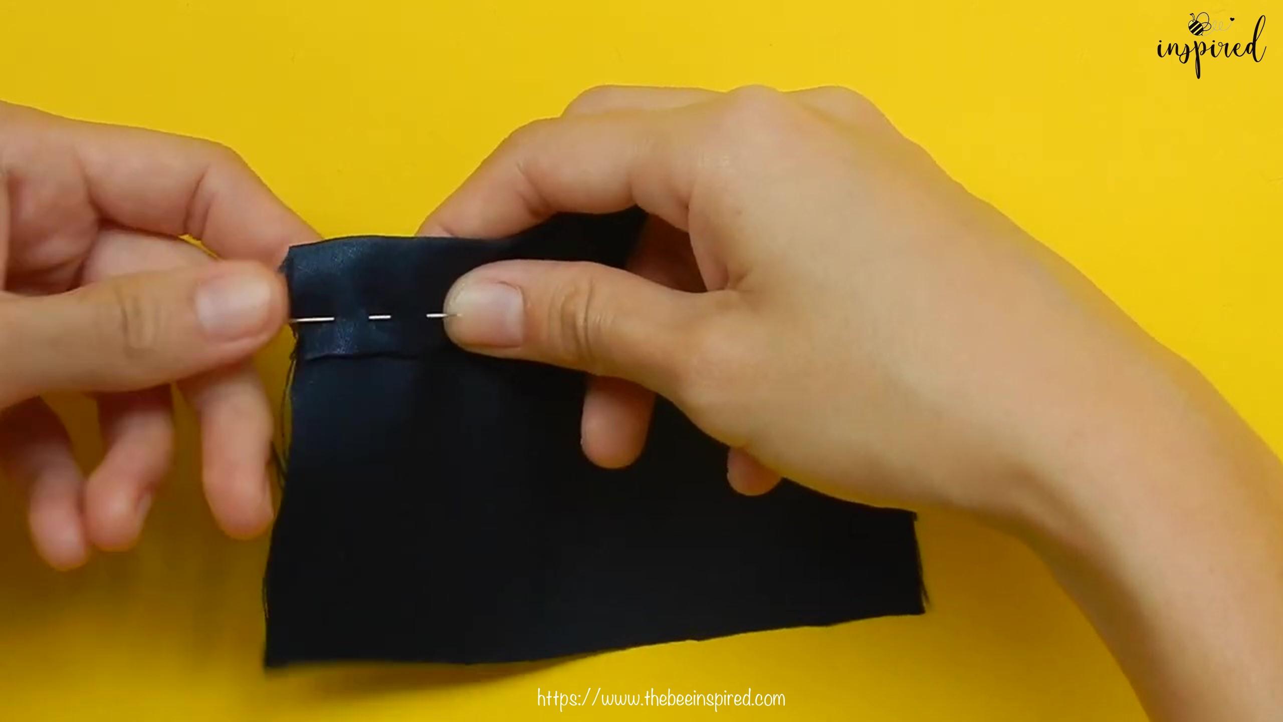 วิธีการเนาผ้า (How to Sew a Basting Stitch)_2