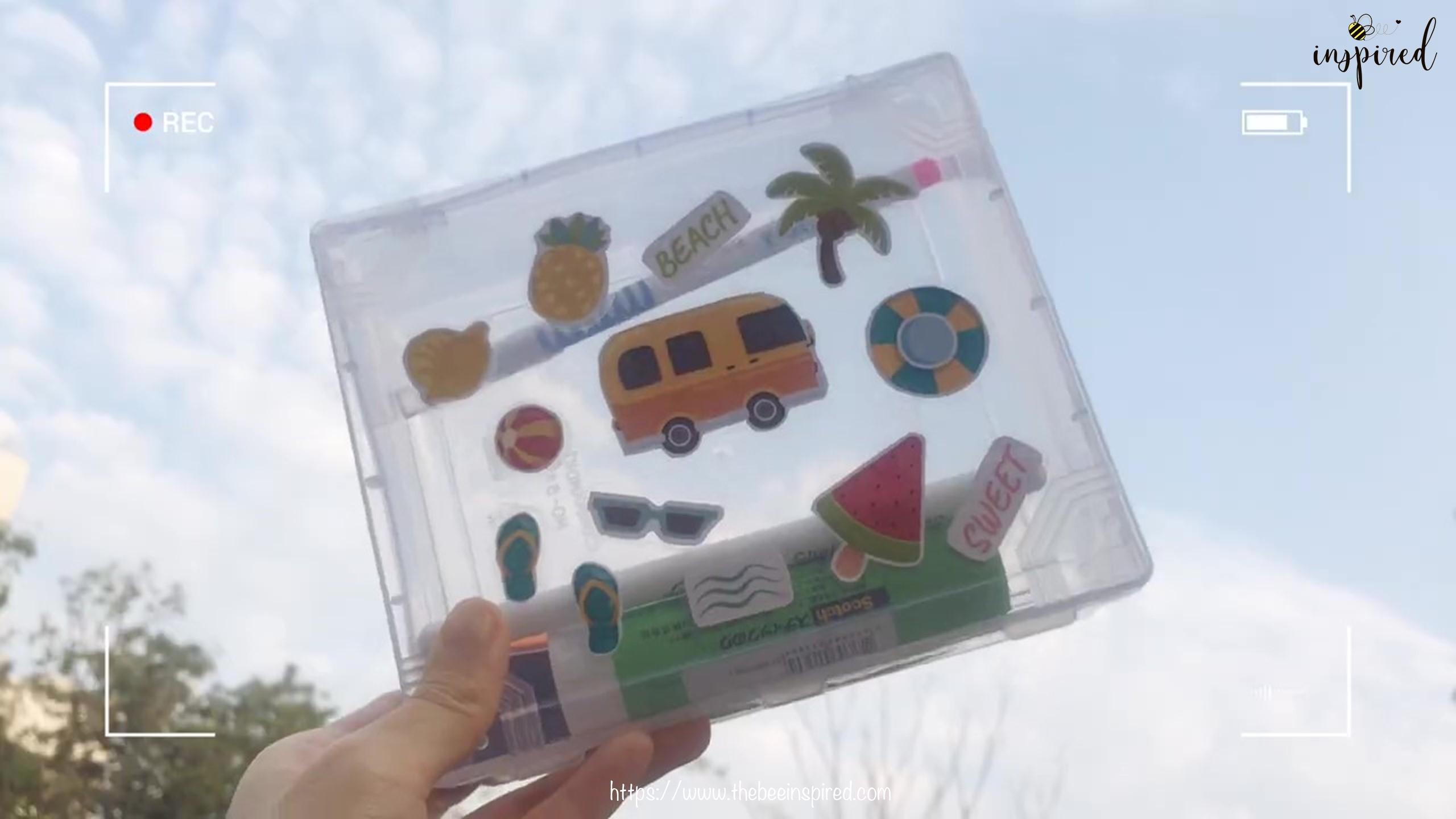 วิธีทำสติ๊กเกอร์ง่ายๆ ด้วยสก็อตเทปใส_ (Easy DIY) How to Make Sticker from Clear Packaging Tape_9