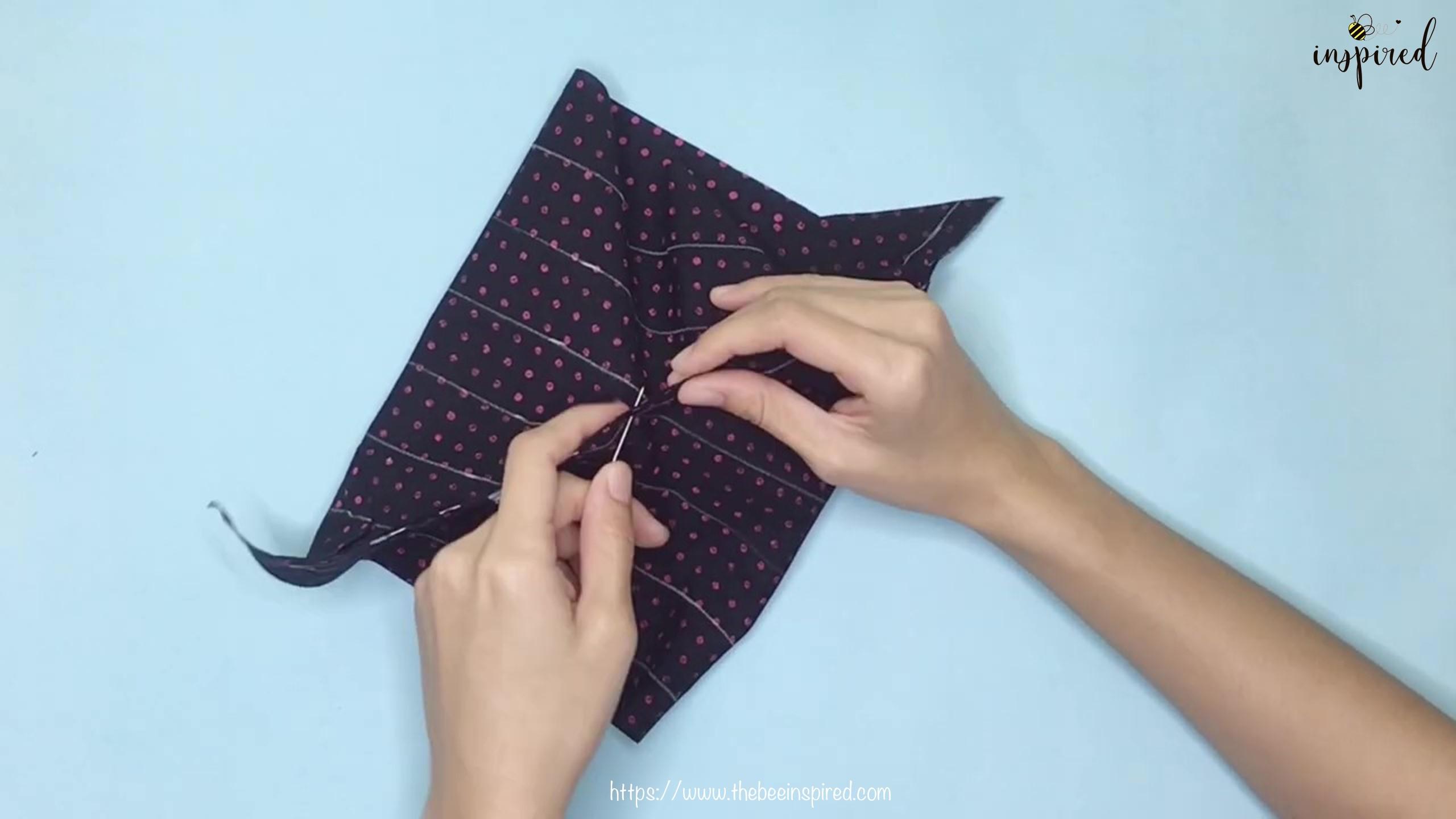 เทคนิคตัดและต่อผ้าเฉลียงที่ไม่ดูไม่ได้_ What is Fabric Grain & How to Make Continuous Bias Binding_11