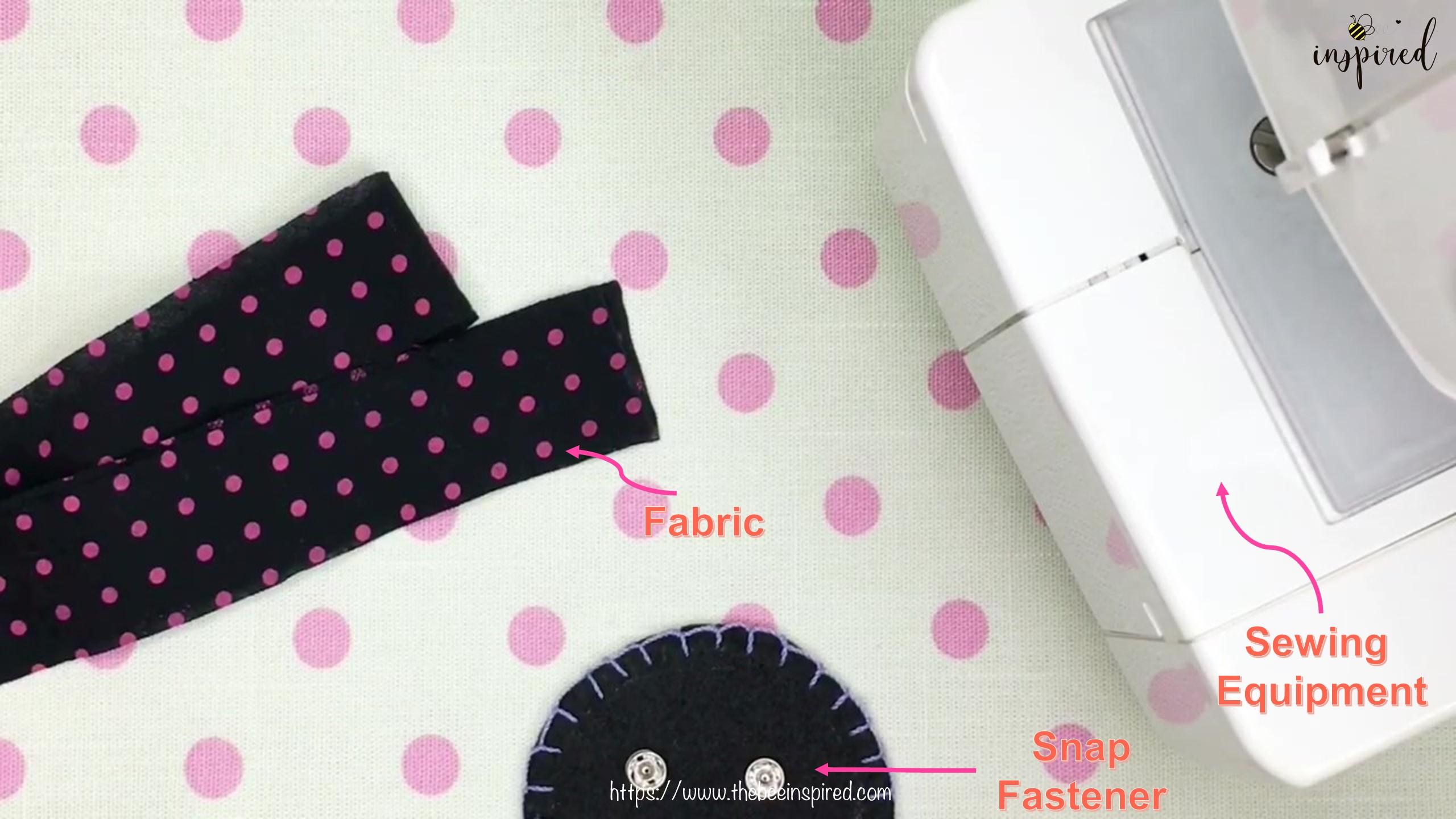 DIY สายคล้องแมสด้วยผ้าราคา 0 บาท _ How to Make Fabric Mask Strap with zero budget!_Equipment