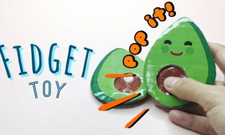DIY Avocado Pop It Fidgets: Viral TikTok Fidget Toys