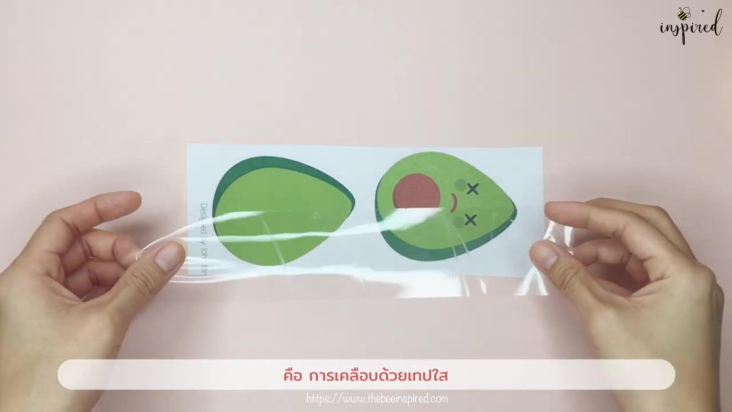 DIY Avocado Pop It Fidgets_9
