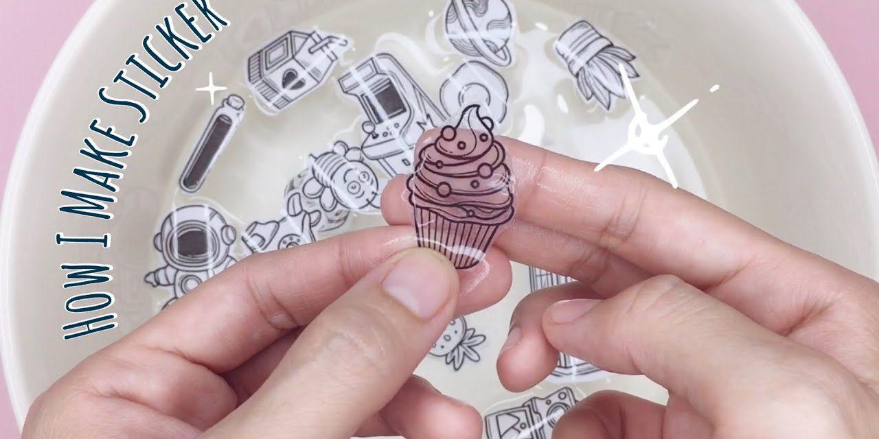 DIY Clear Sticker from Packaging Tape: วิธีทำสติ๊กเกอร์ใสเองง่ายๆ ด้วยสก็อตเทปใส
