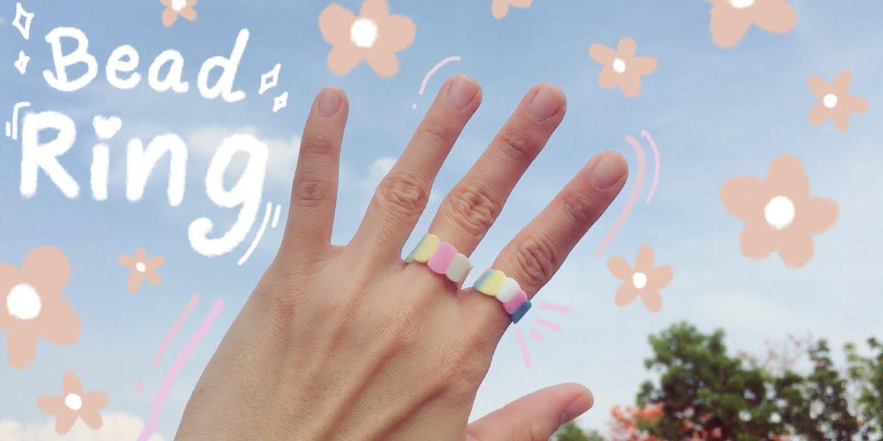 DIY Bead Ring with Hair Straightener: วิธีทำแหวนจากลูกปัดด้วยเครื่องหนีบผม