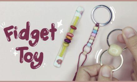 DIY Fidget Toy from Bead (Viral Tiktok): สอนทำของเล่นคลายเครียดจากลูกปัด