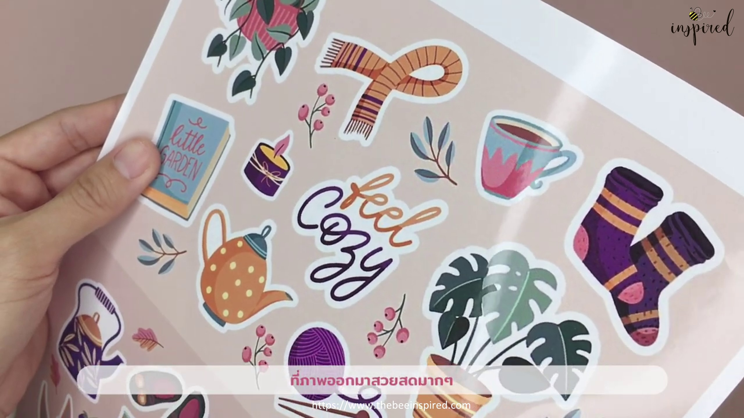 DIY Clear and Color Sticker_3