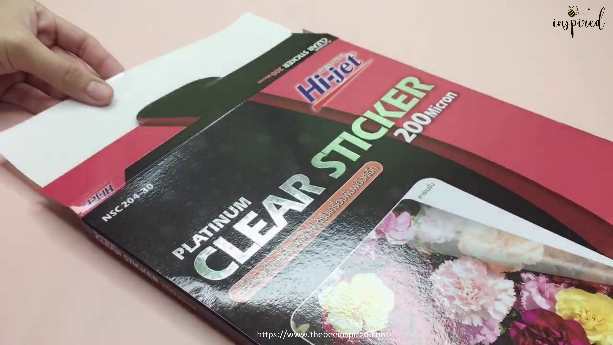 DIY Clear and Color Sticker_6