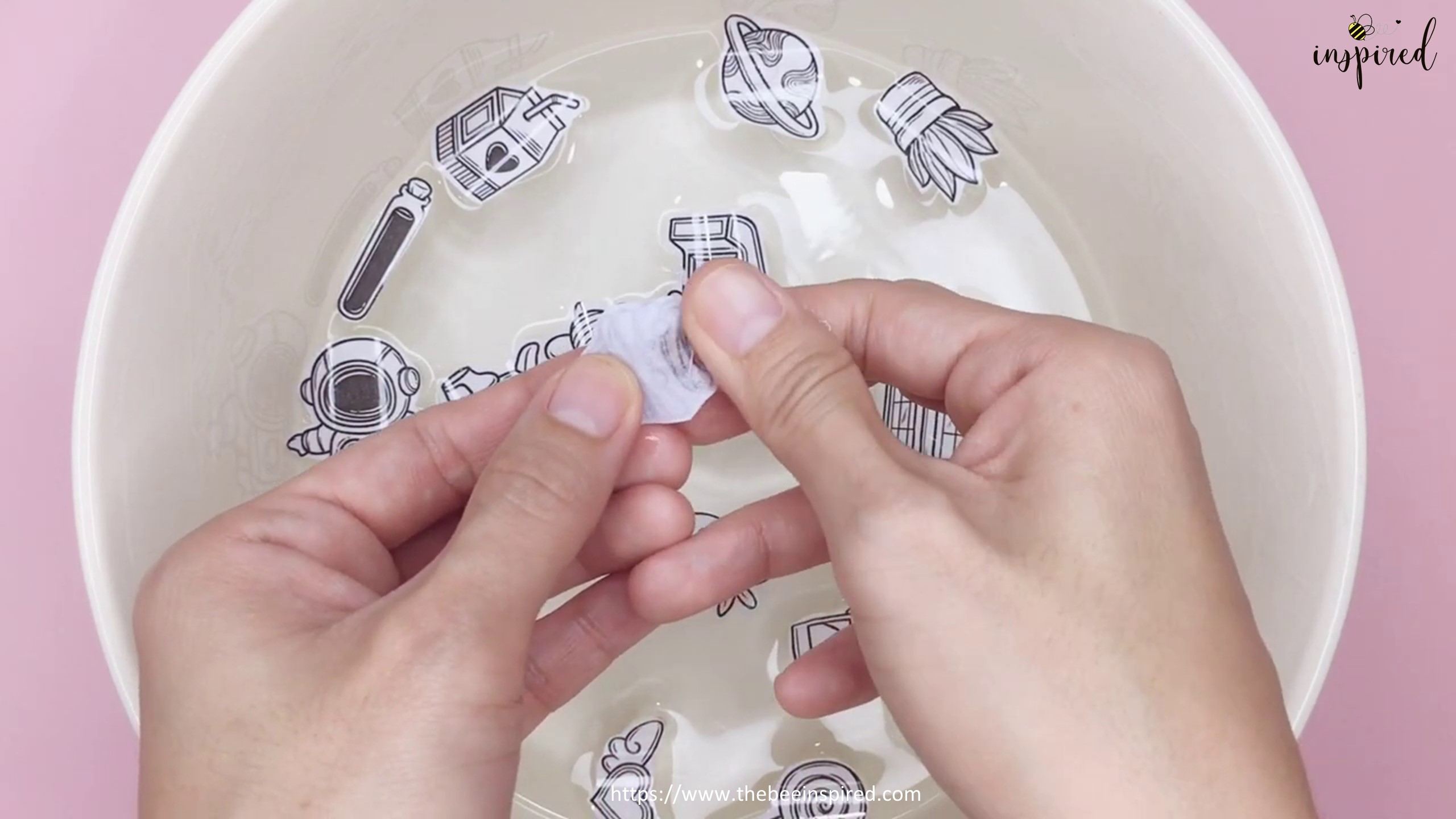 DIY Clear Sticker from Packaging Tape_7