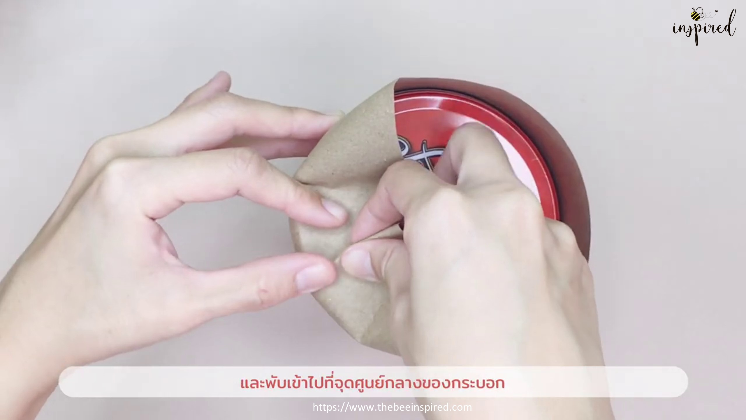 DIY Cylinder Gift Wrapping for Valentine_6