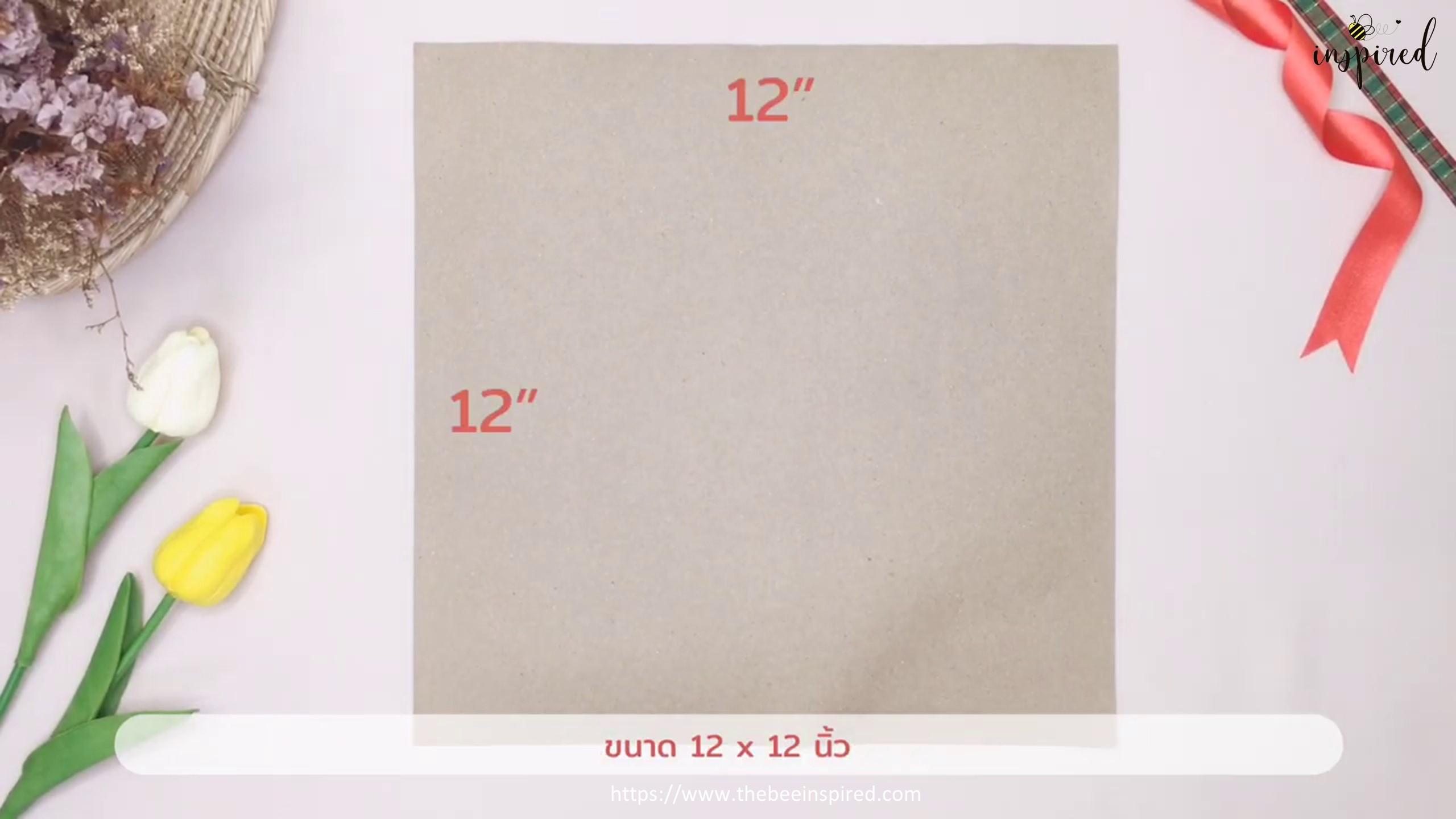 DIY Easter Bunny Rabbit Gift Paper Bag_1