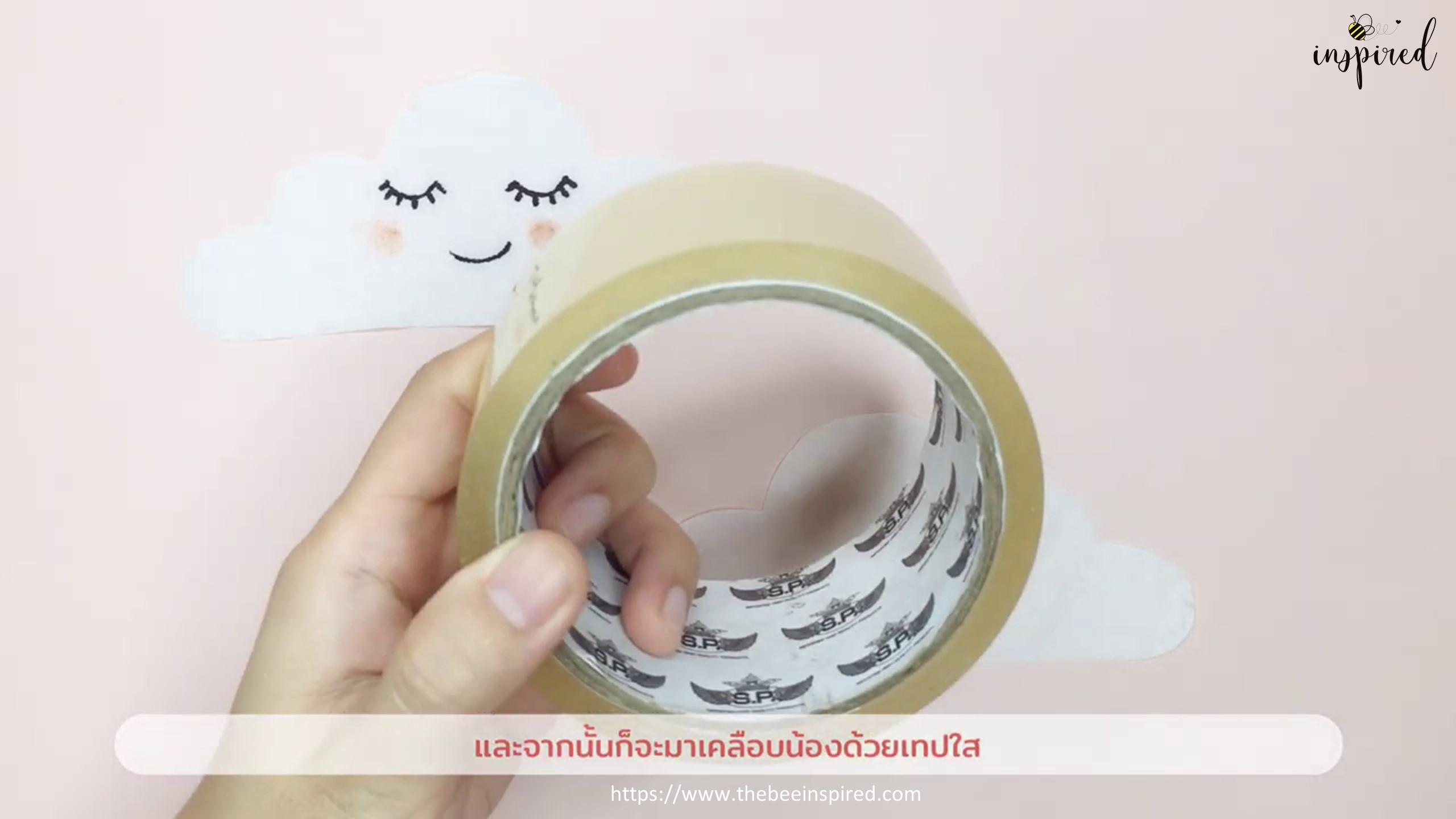 DIY Fidget Toy from Tissue Paper_5