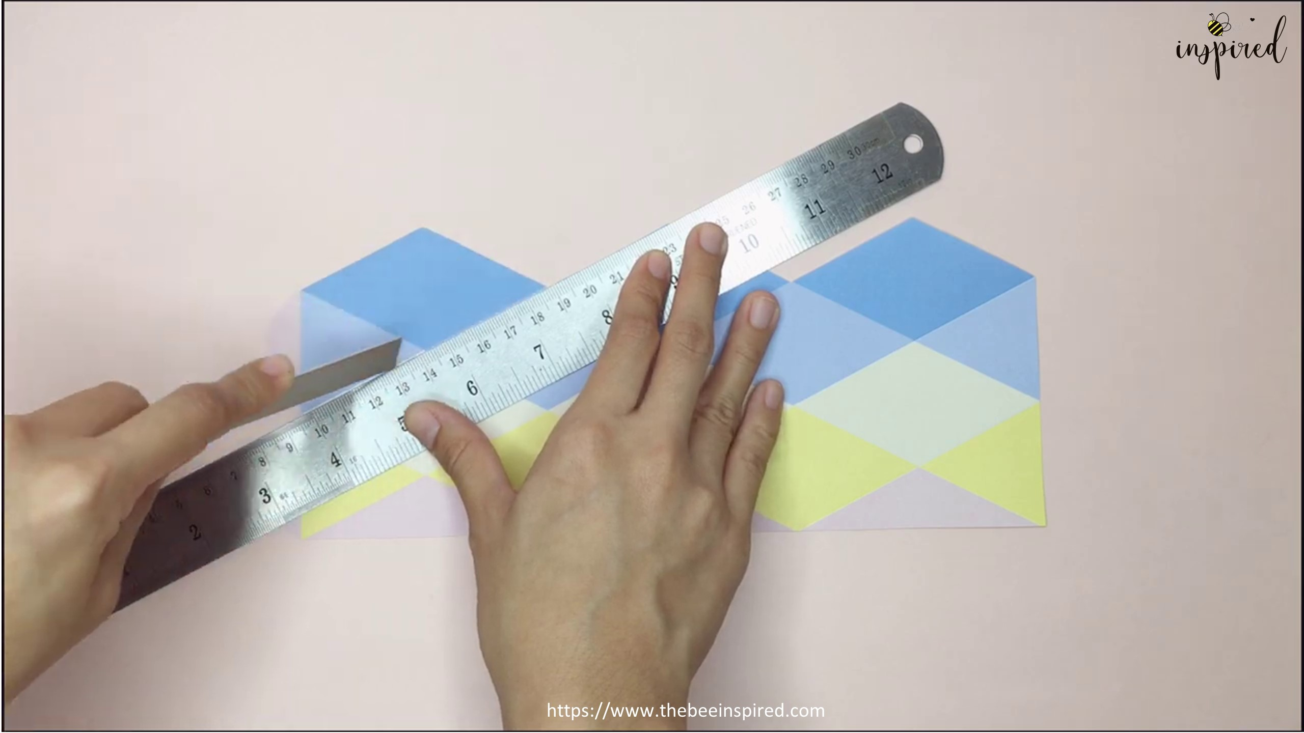 DIY Origami Moving Flexagon Fidget Paper Toy_3