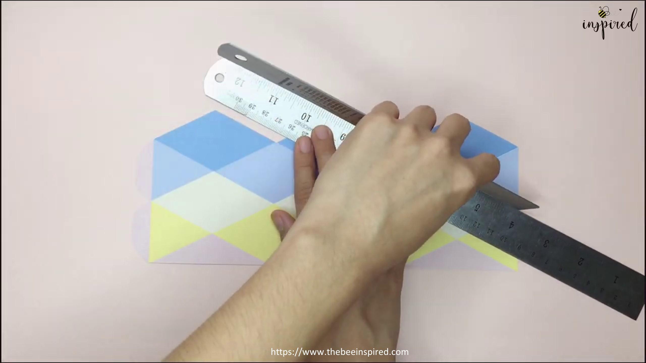 DIY Origami Moving Flexagon Fidget Paper Toy_4