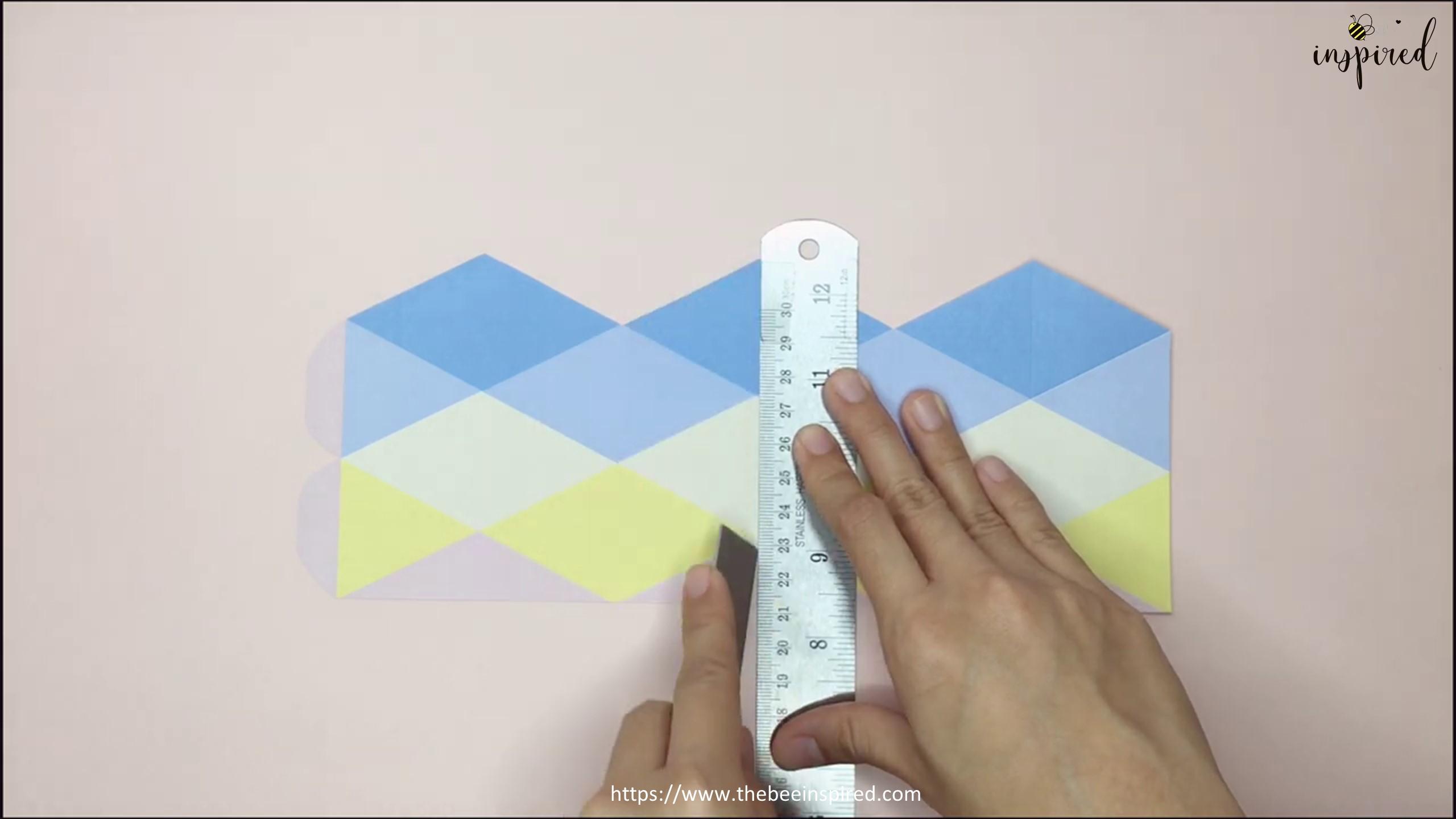 DIY Origami Moving Flexagon Fidget Paper Toy_5
