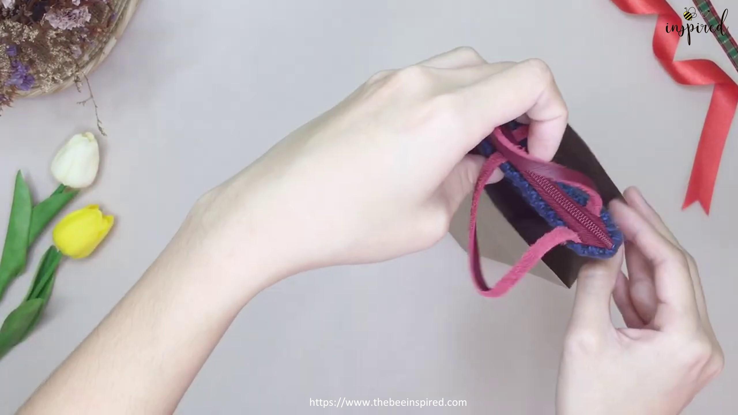 DIY Paper GIFT BAG for Valentine_17