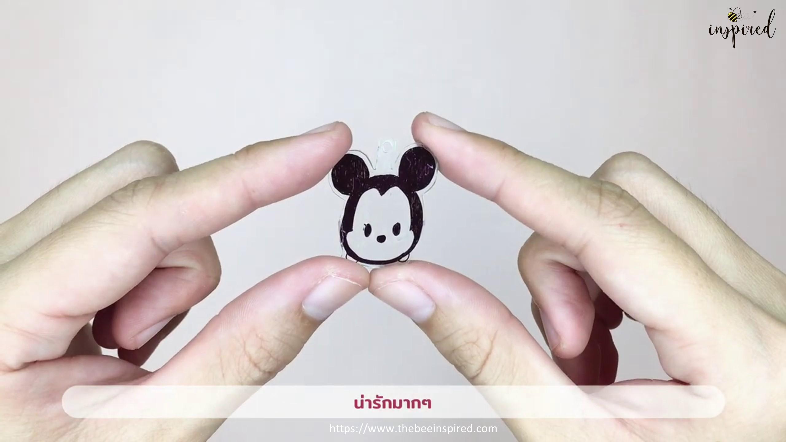 DIY Shrink Plastic Keychain_18