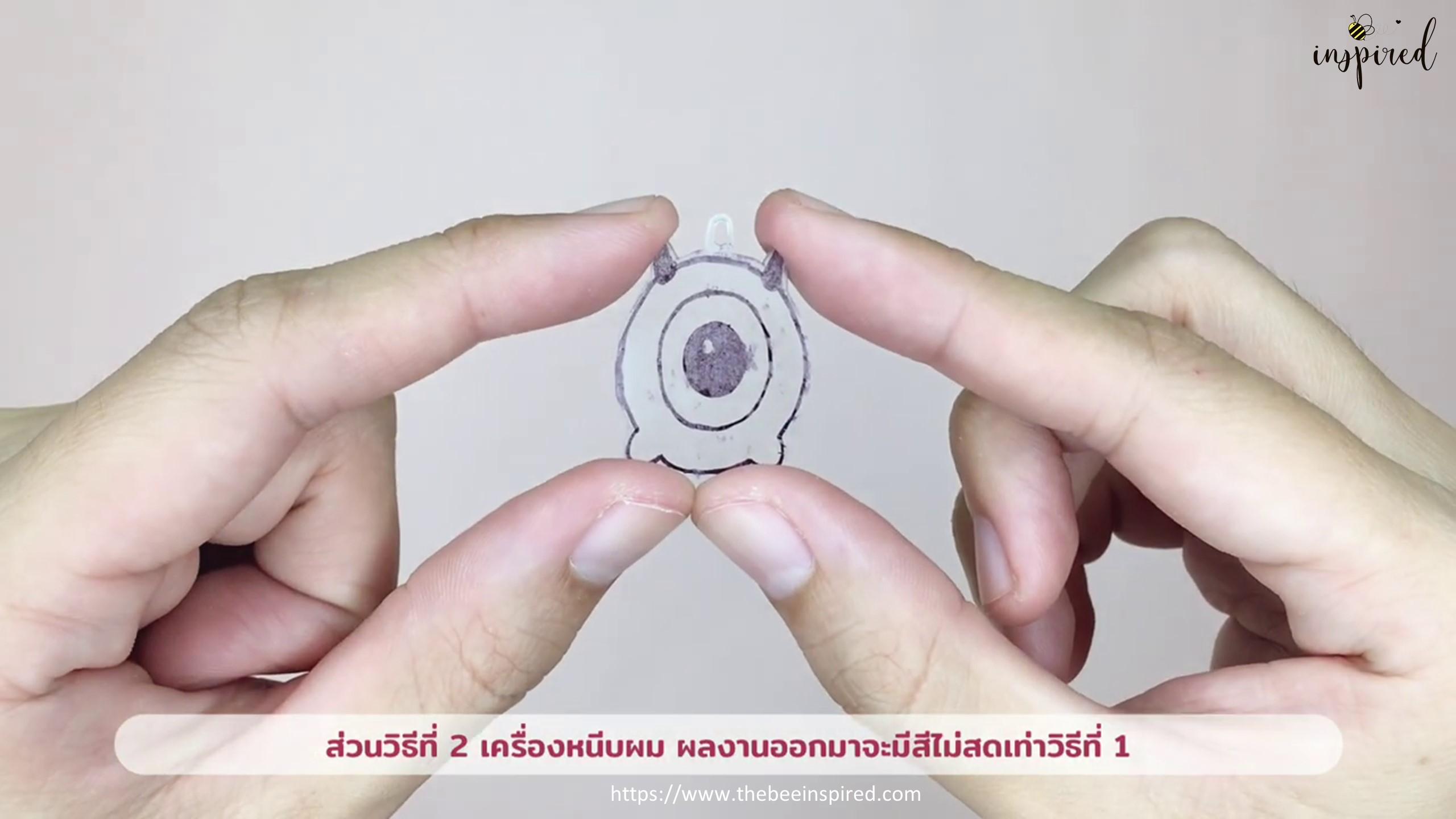DIY Shrink Plastic Keychain_25