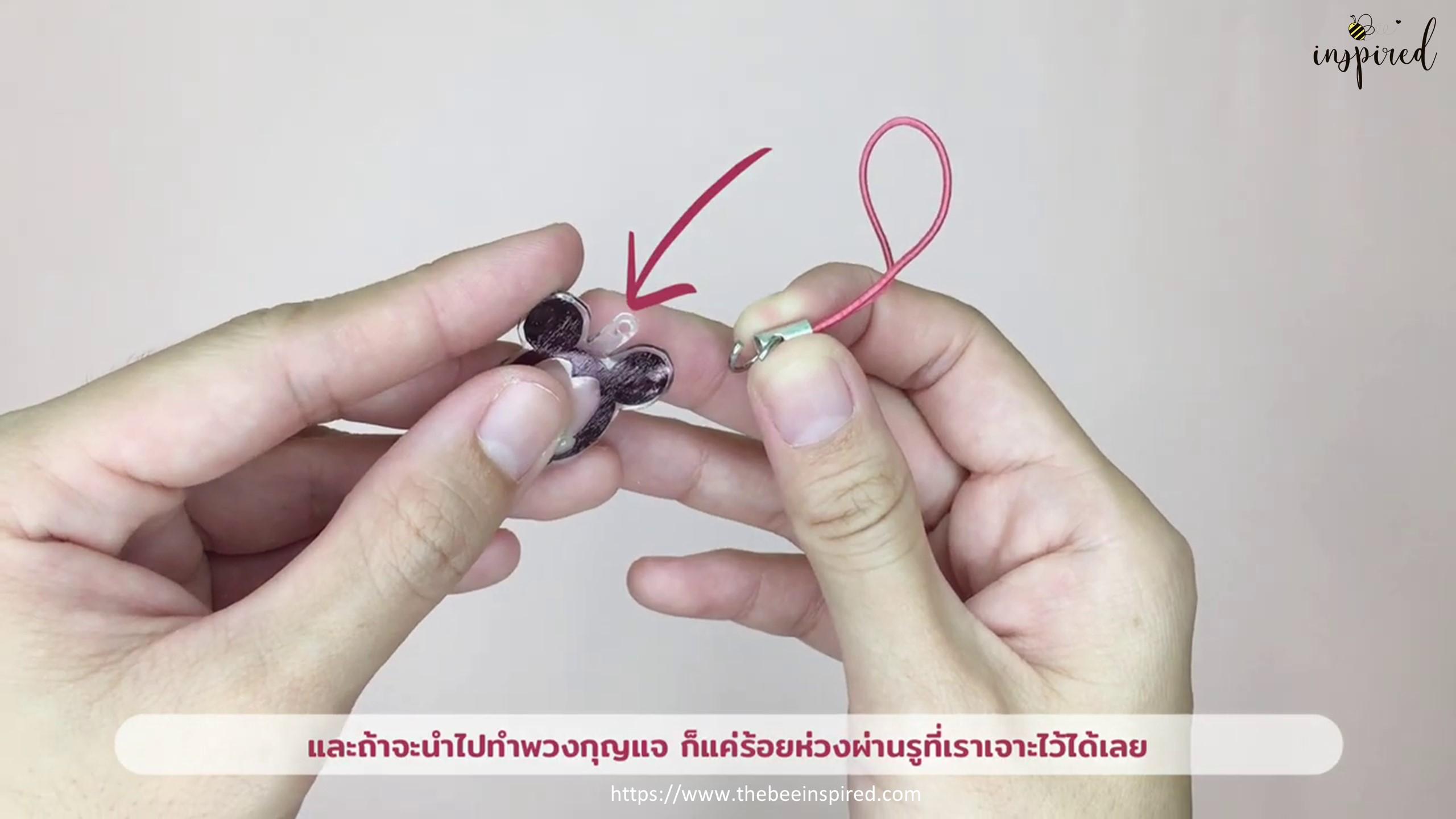 DIY Shrink Plastic Keychain_26