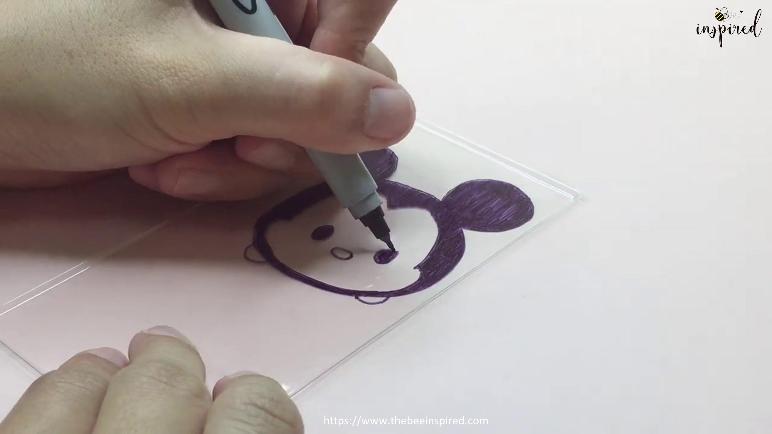 DIY Shrink Plastic Keychain_6