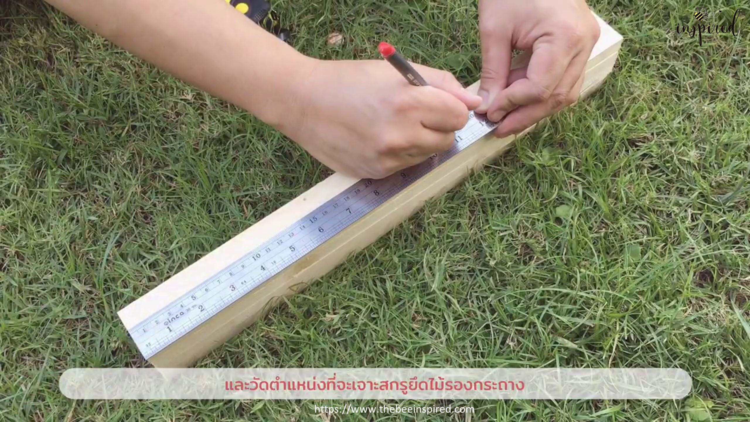 DIY Wood Plant Stand_12