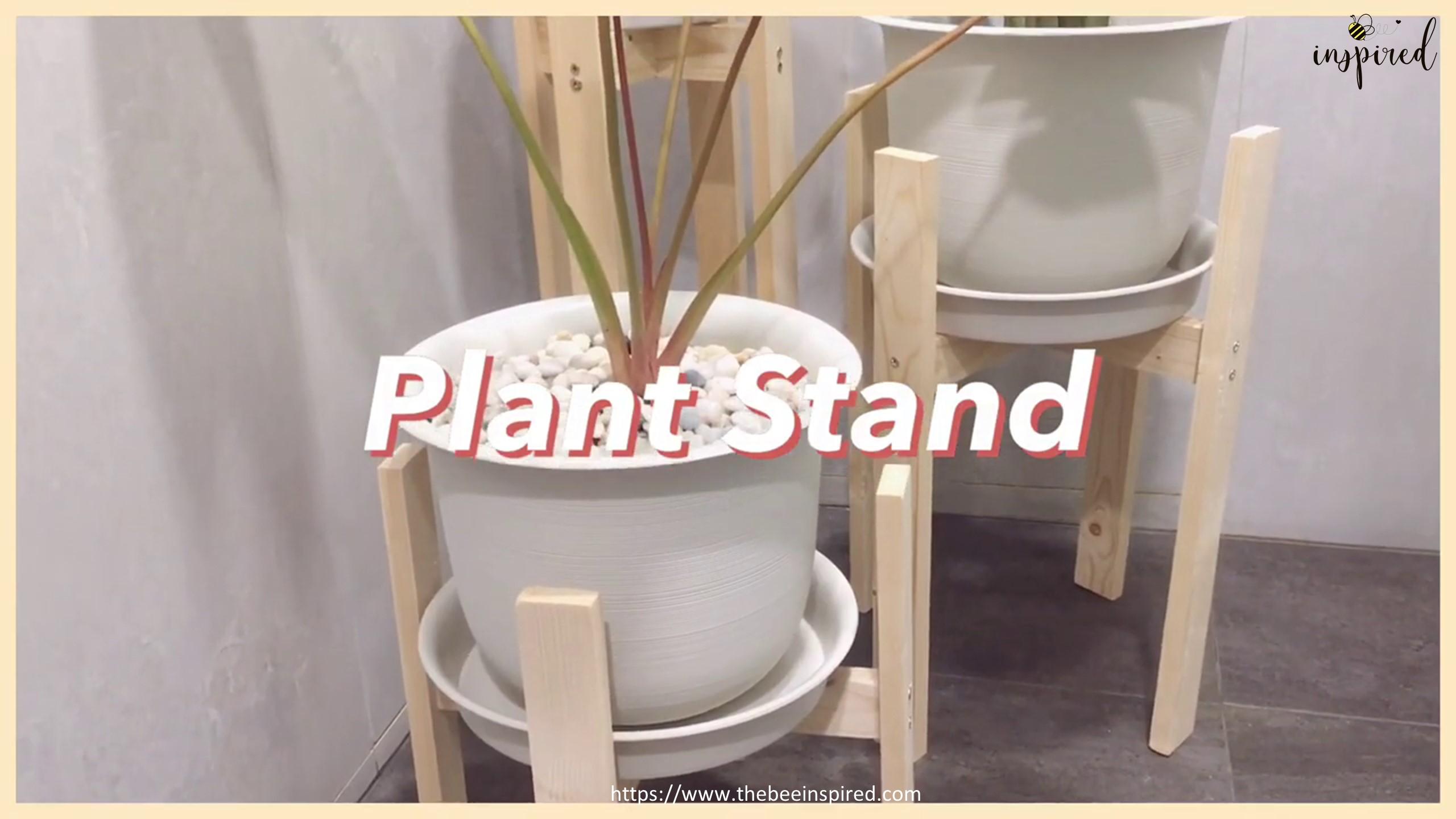 DIY Wood Plant Stand_16