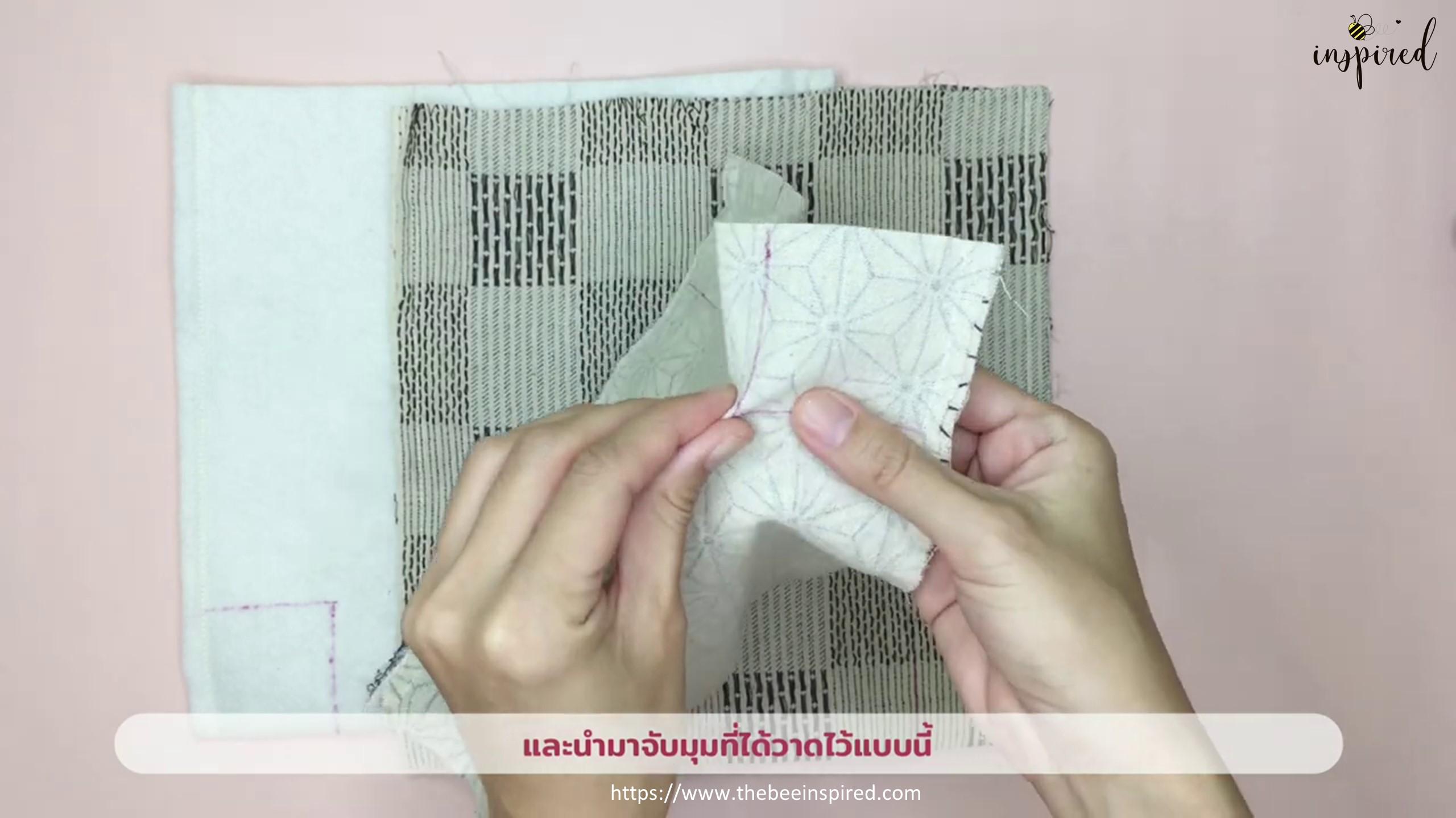 How to Sew Reversible Handbag 6 styles in 1 bags_10