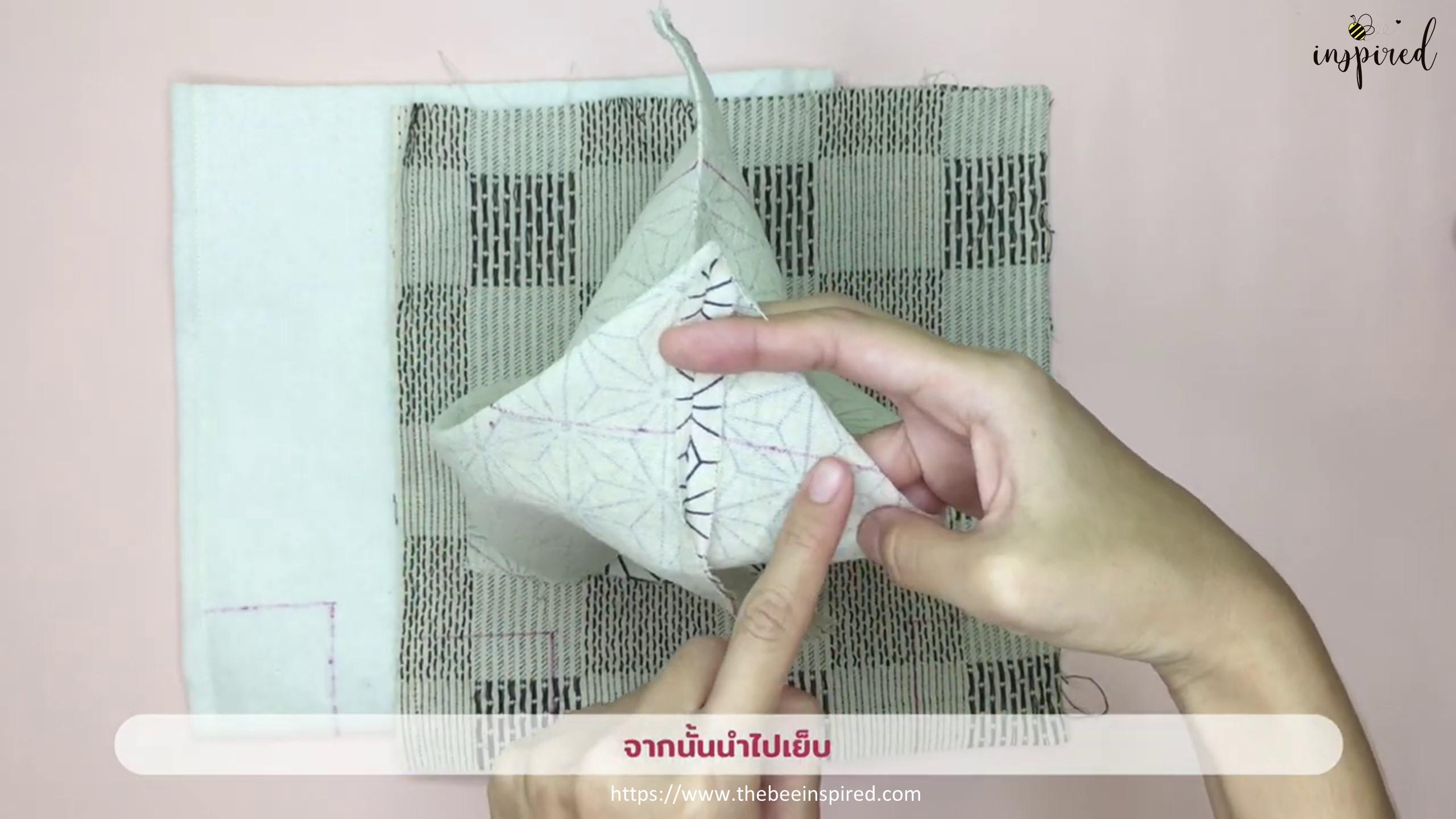 How to Sew Reversible Handbag 6 styles in 1 bags_12