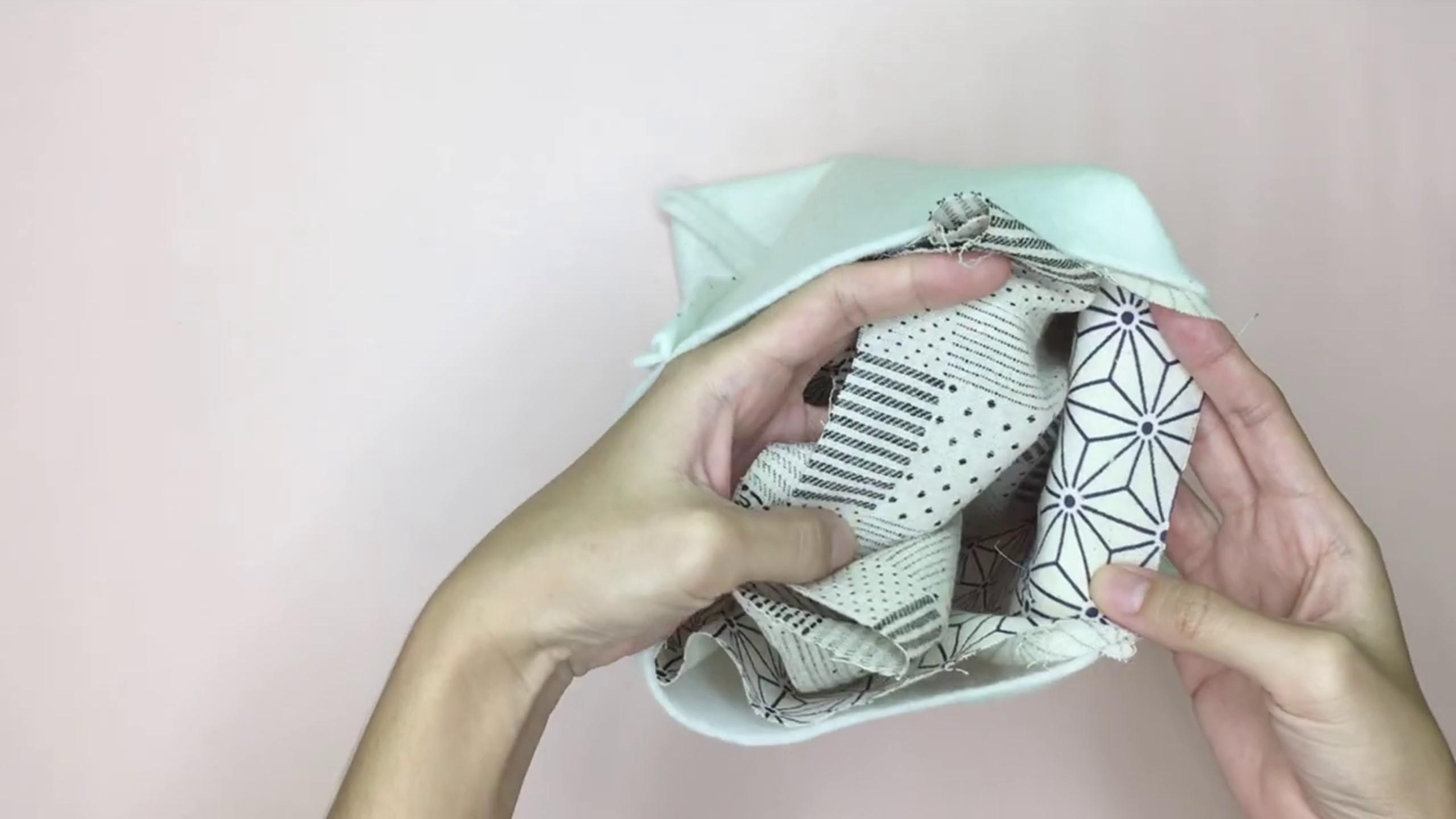 How to Sew Reversible Handbag 6 styles in 1 bags_21