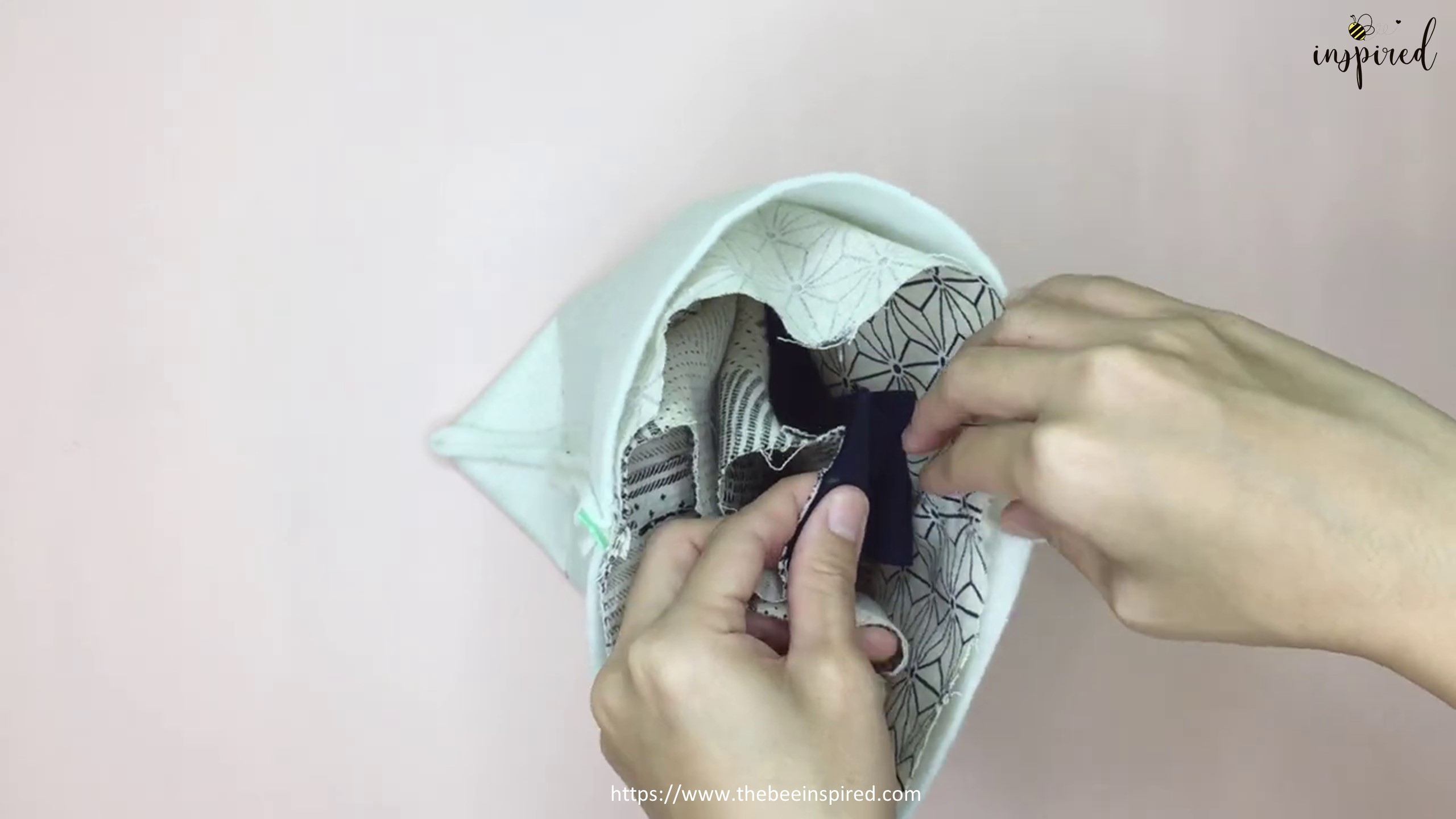 How to Sew Reversible Handbag 6 styles in 1 bags_47