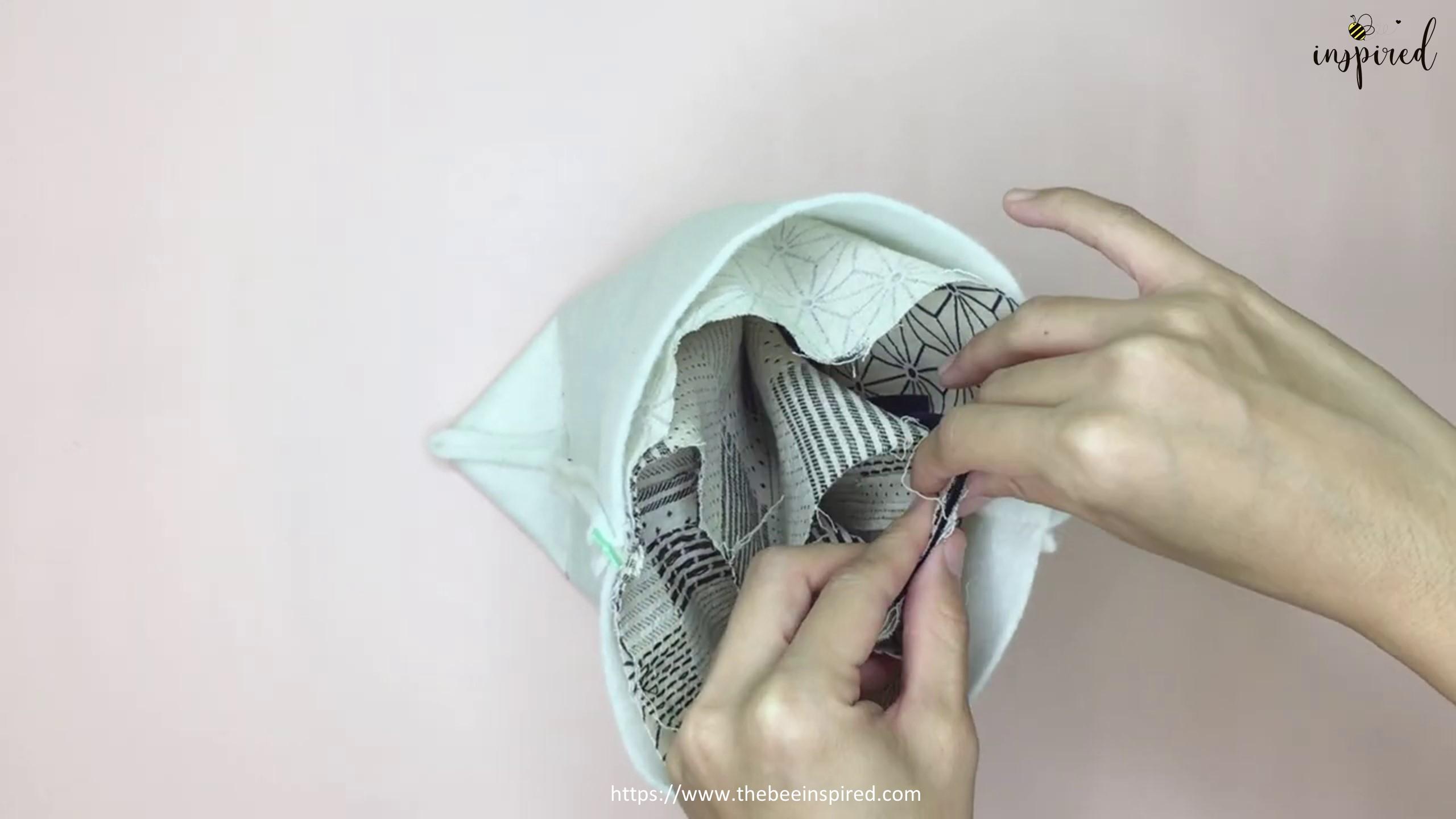 How to Sew Reversible Handbag 6 styles in 1 bags_48