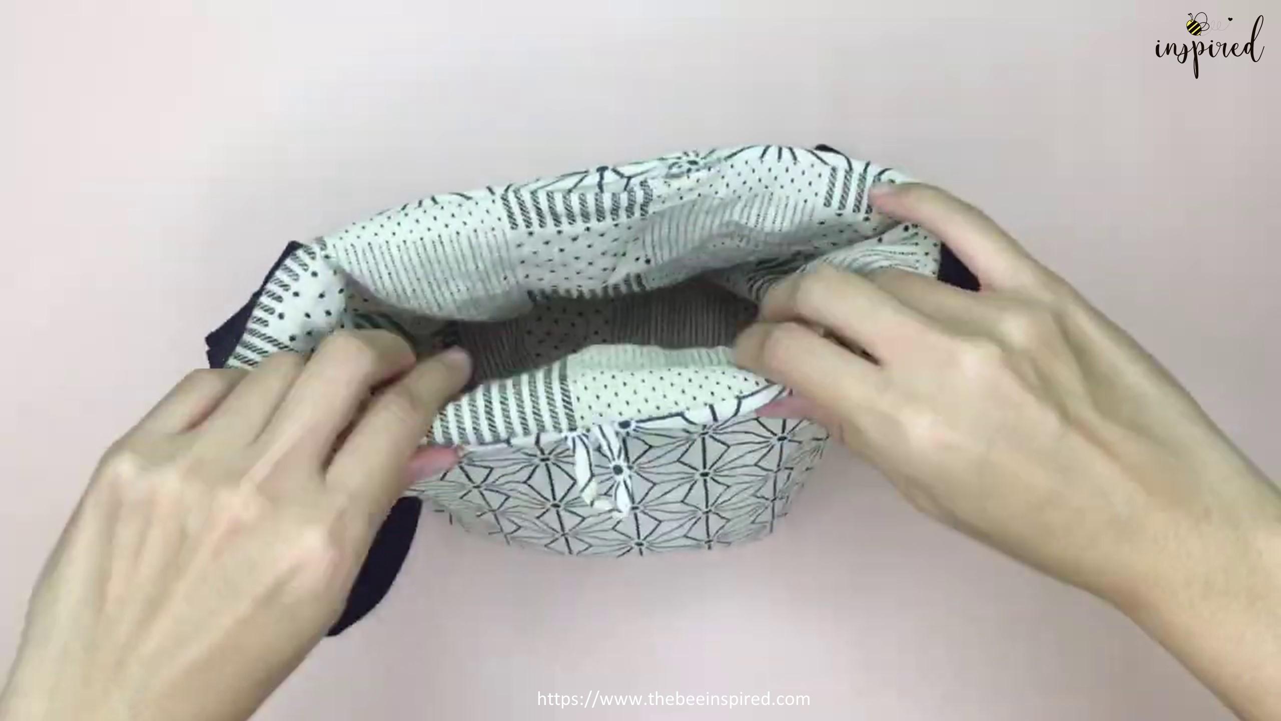 How to Sew Reversible Handbag 6 styles in 1 bags_60