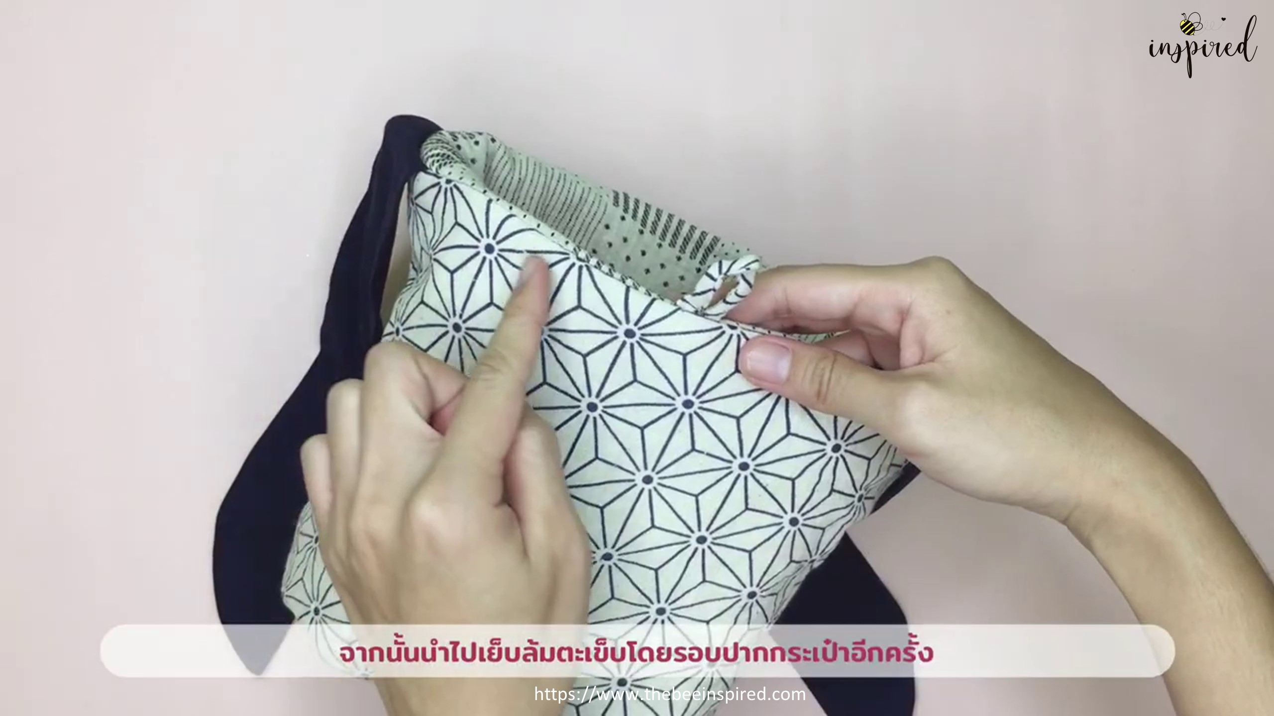 How to Sew Reversible Handbag 6 styles in 1 bags_61