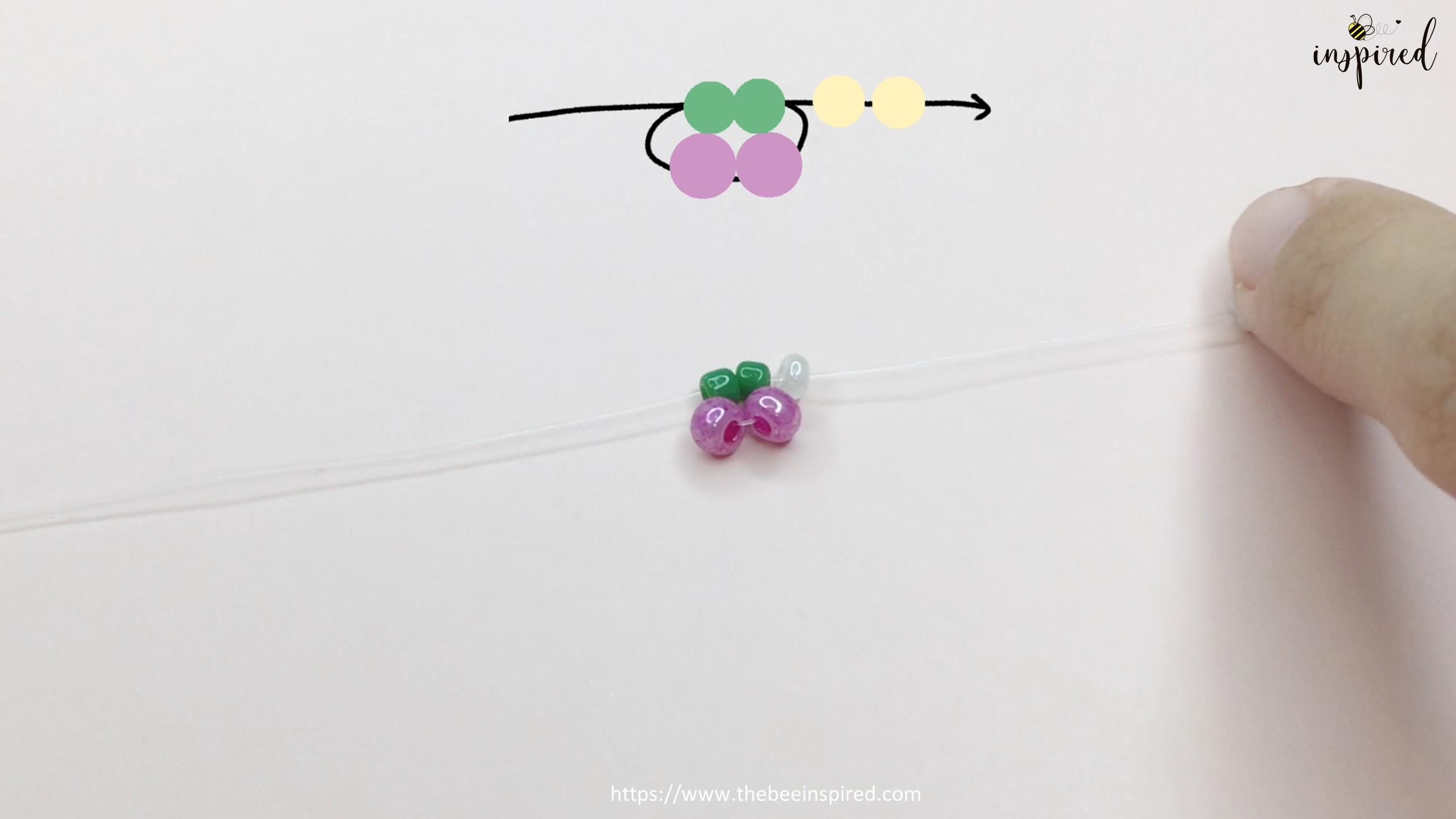 วิธีทำแหวนลูกปัดเชอร์รี่ง่ายๆ สไตล์เกาหลี - How to Make Cherry Beaded Ring_5