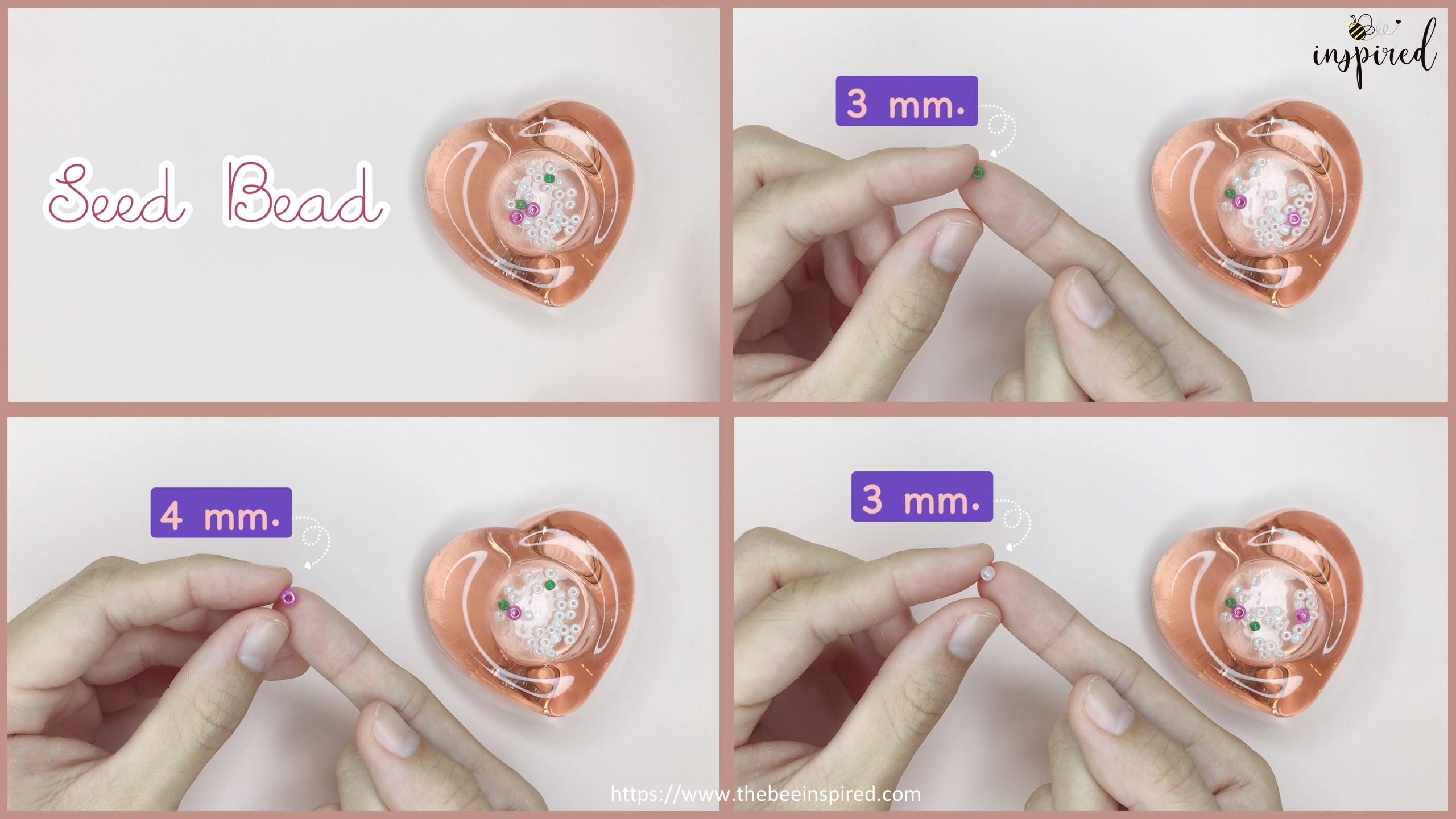 วิธีทำแหวนลูกปัดเชอร์รี่ง่ายๆ สไตล์เกาหลี - How to Make Cherry Beaded Ring_Equipment_1