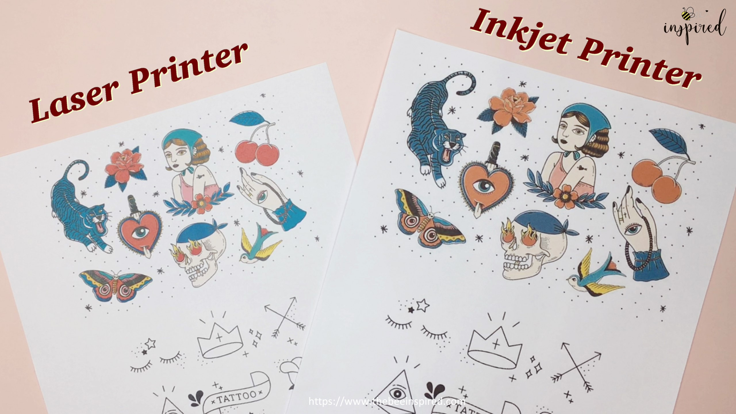 How to Make Sticker from Paper _ Clear Packaging Tape_1
