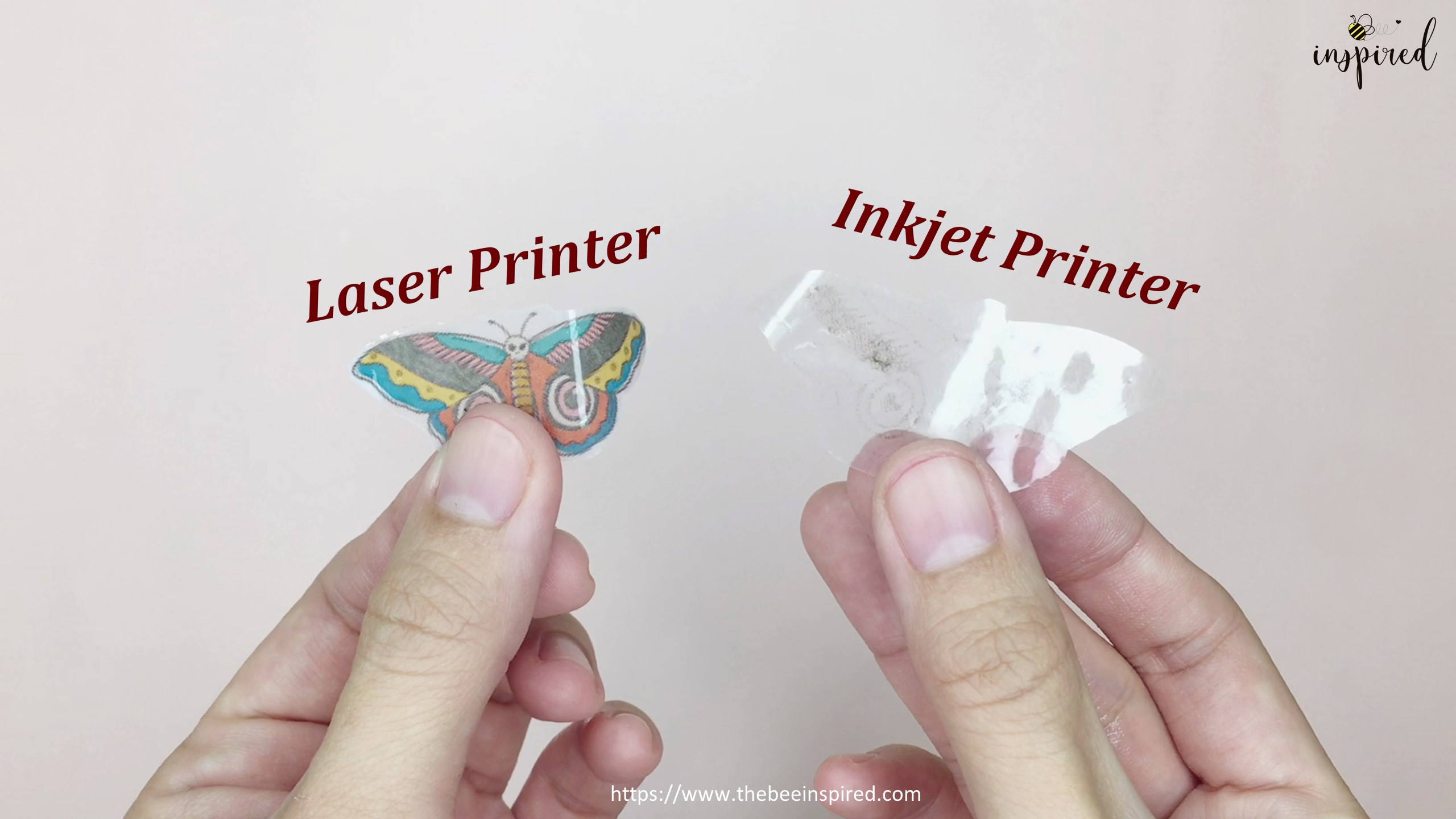 How to Make Sticker from Paper _ Clear Packaging Tape_13