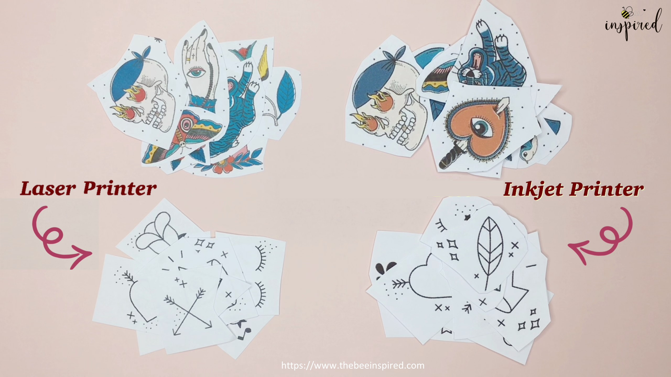 How to Make Sticker from Paper _ Clear Packaging Tape_2