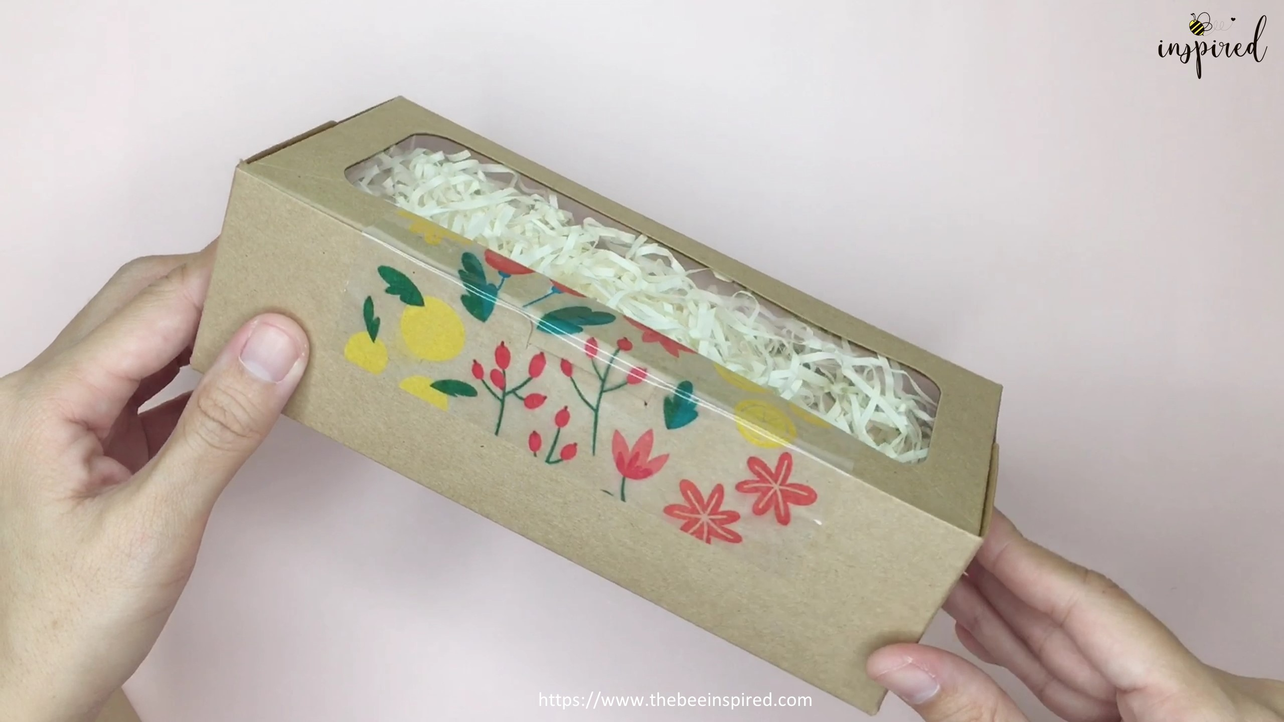 How to Make Washi Tape Masking Tape without Double Sided Tape_10