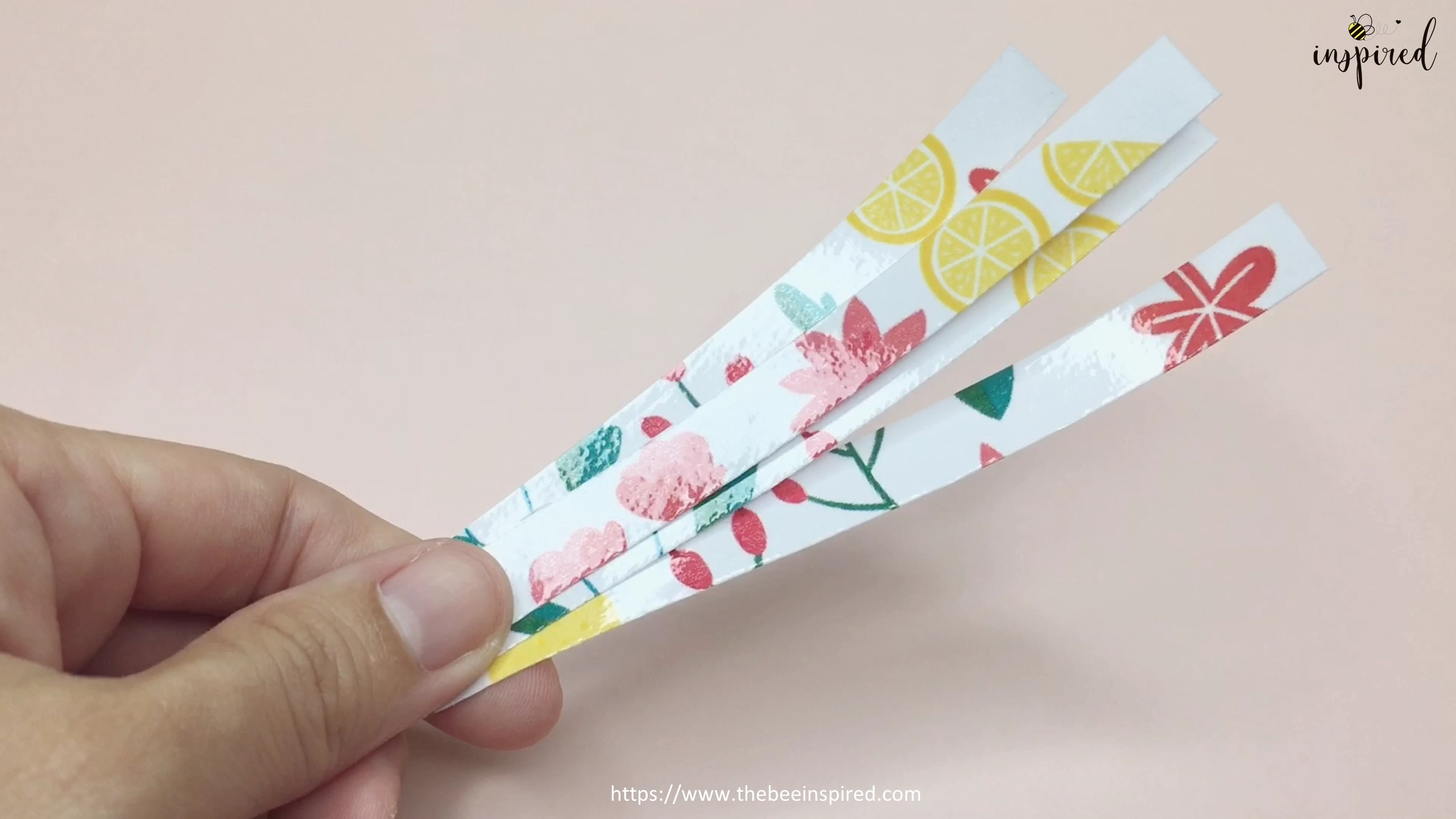 How to Make Washi Tape Masking Tape without Double Sided Tape_14