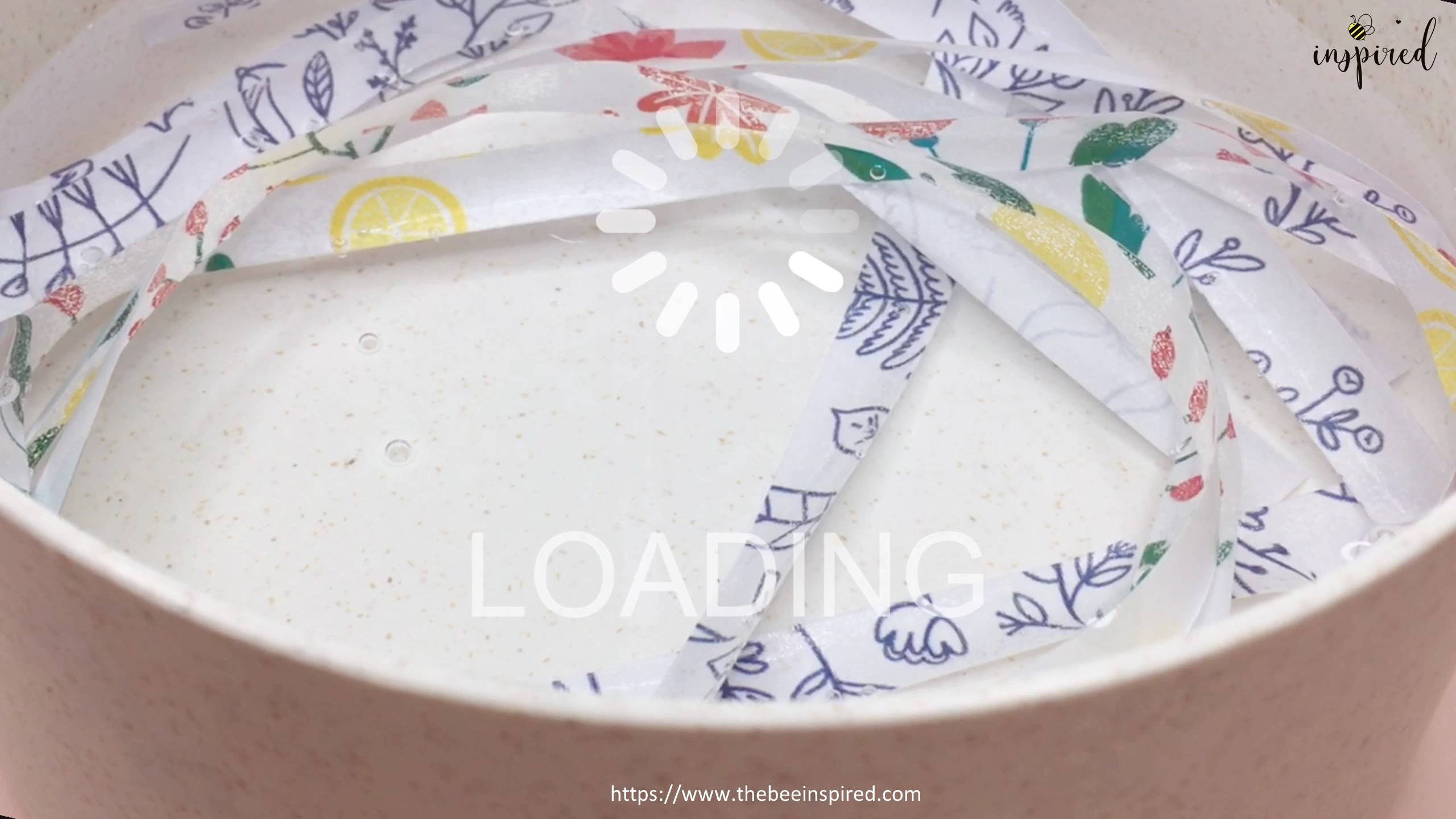 How to Make Washi Tape Masking Tape without Double Sided Tape_15