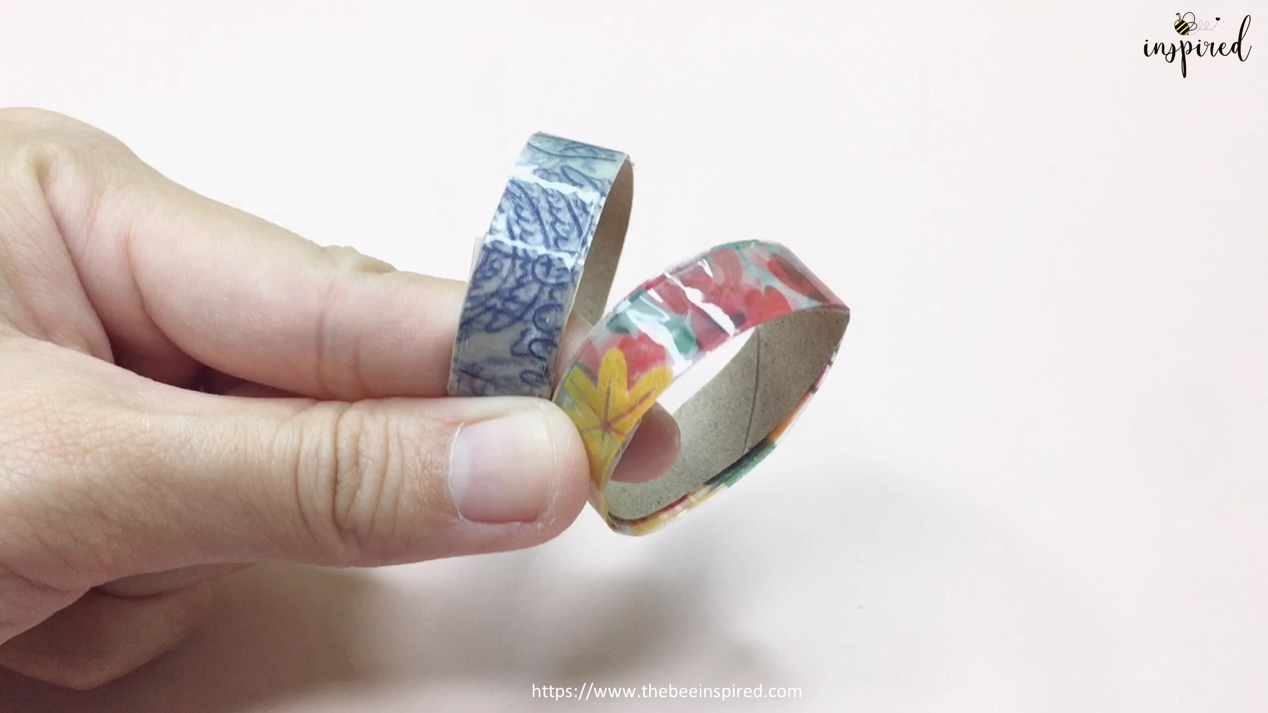 How to Make Washi Tape Masking Tape without Double Sided Tape_28