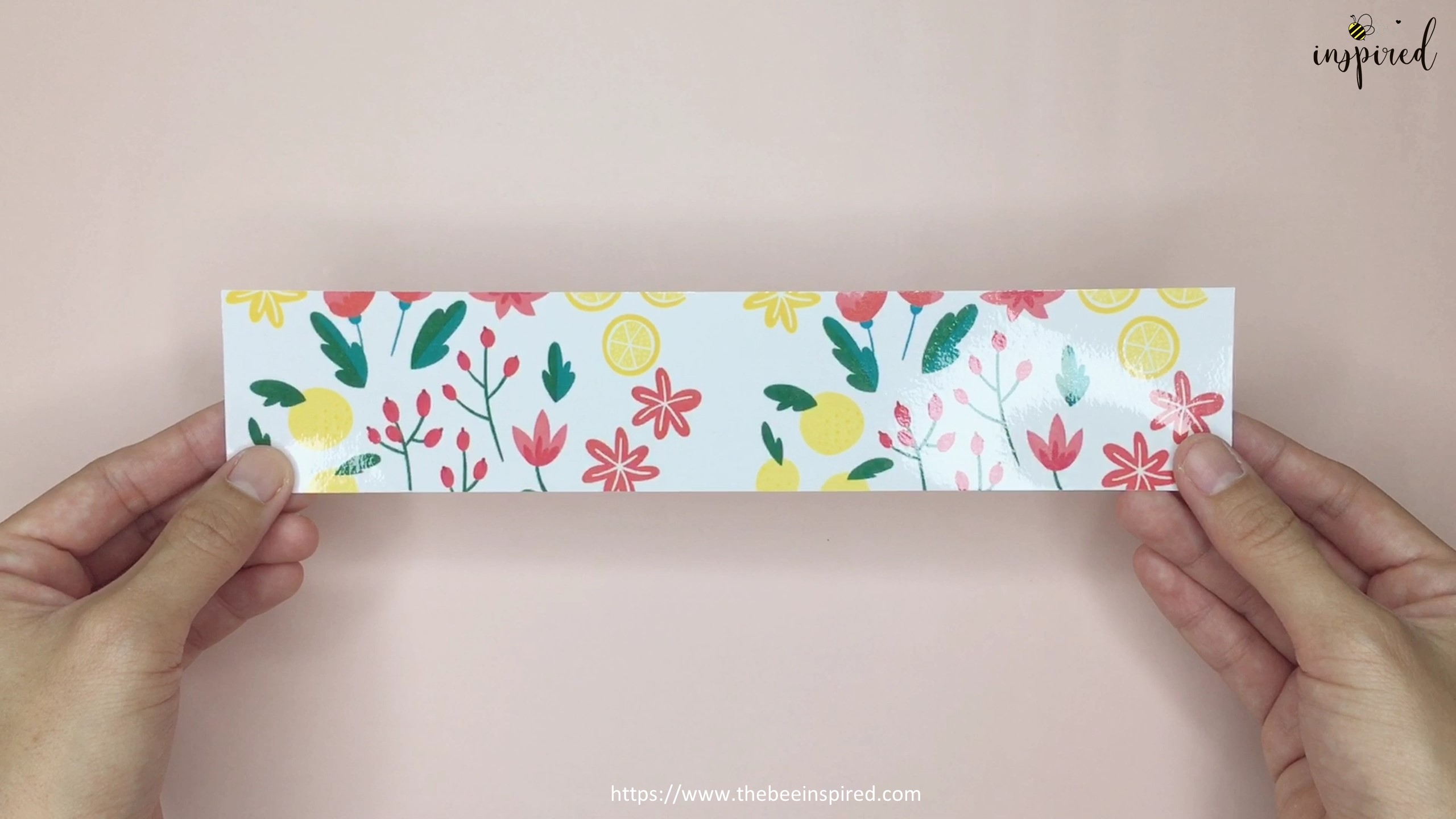 How to Make Washi Tape Masking Tape without Double Sided Tape_4