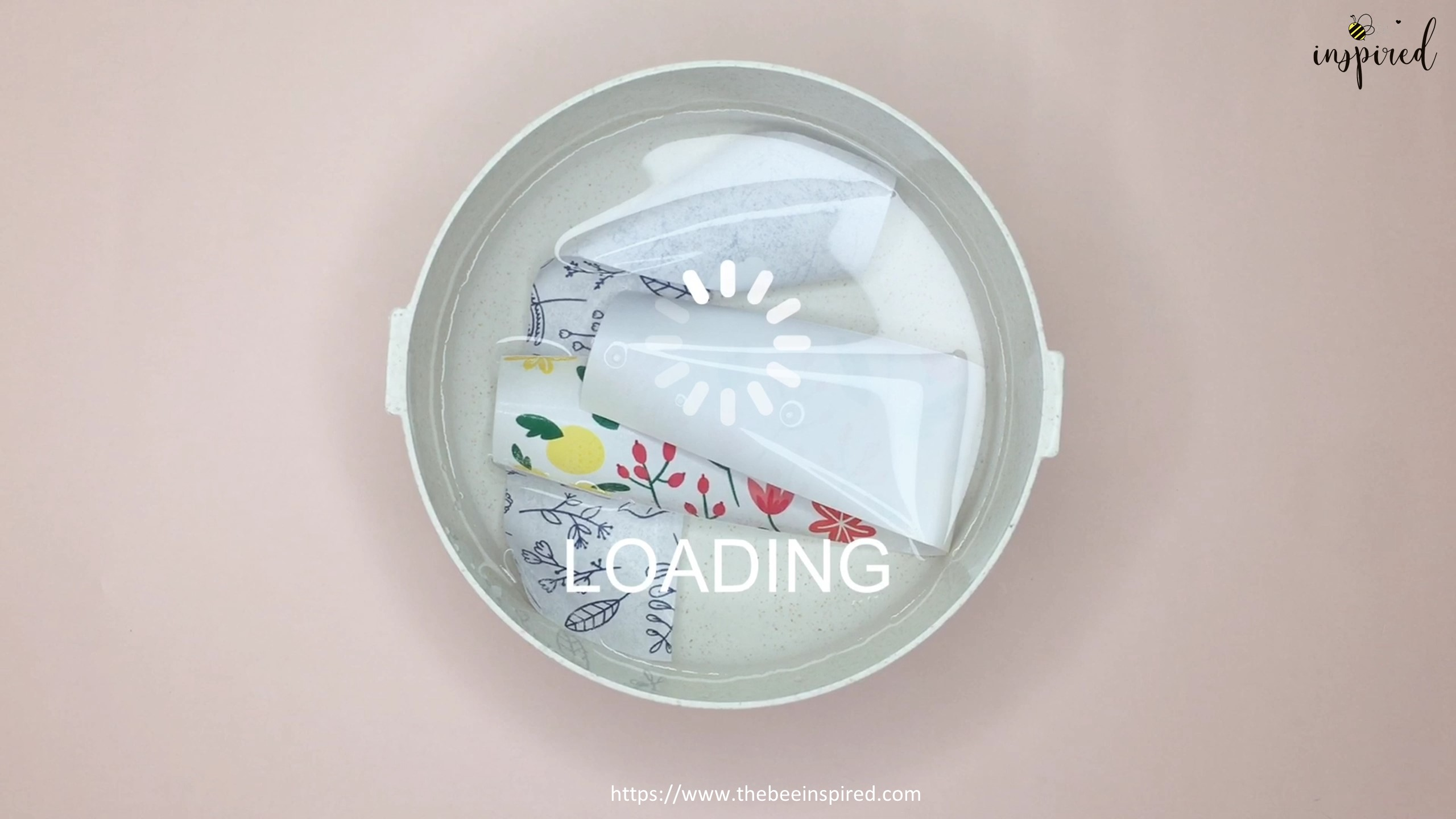How to Make Washi Tape Masking Tape without Double Sided Tape_5