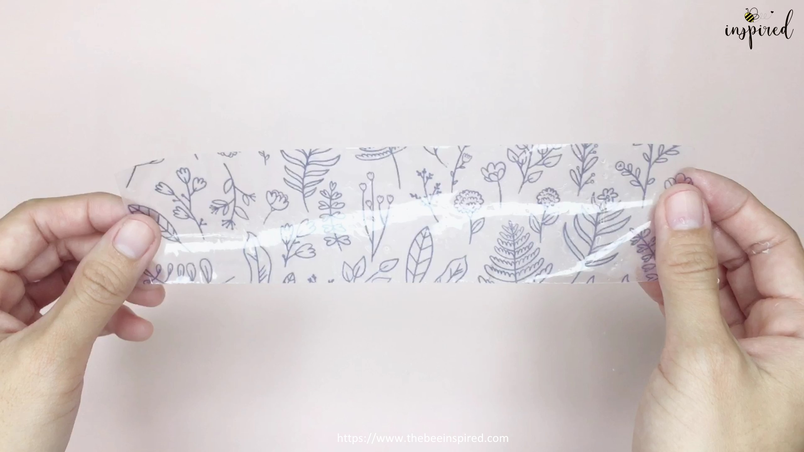 How to Make Washi Tape Masking Tape without Double Sided Tape_7