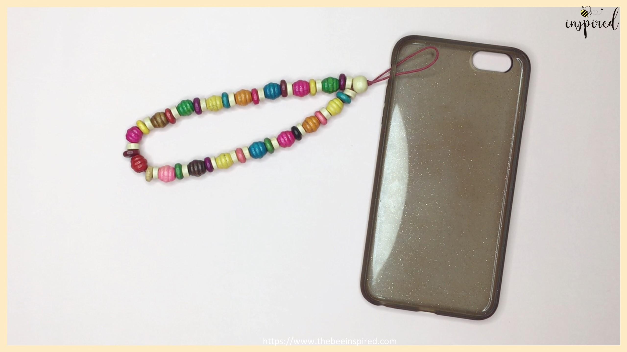สอนทำพวงกุญแจลูกปัดห้อยโทรศัพท์ง่ายๆ อุปกรณ์แค่ 3 อย่าง - DIY Beaded Phone Charms (Easy Version) - Phone Strap - Phone Keychain_19